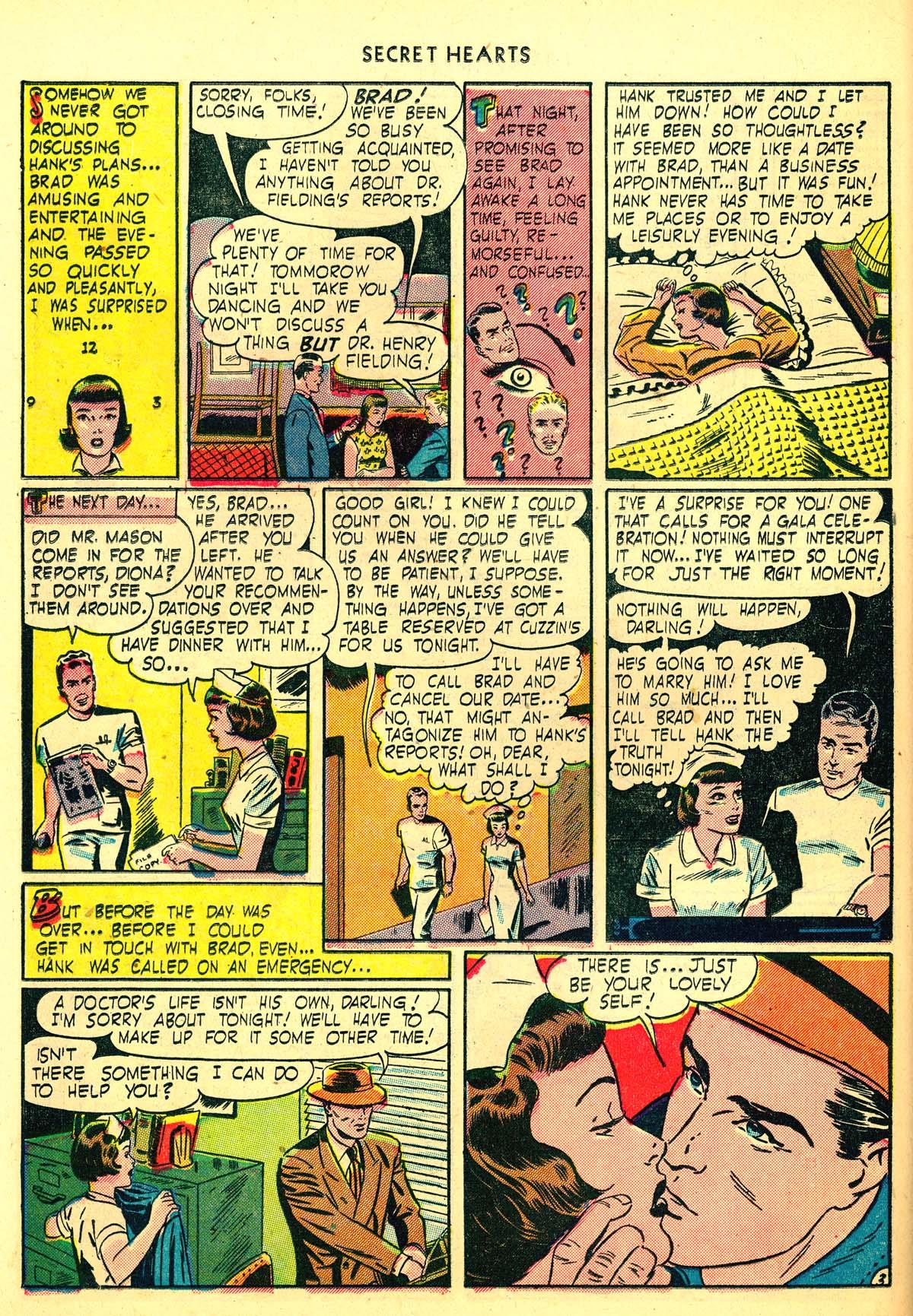 Read online Secret Hearts comic -  Issue #6 - 32