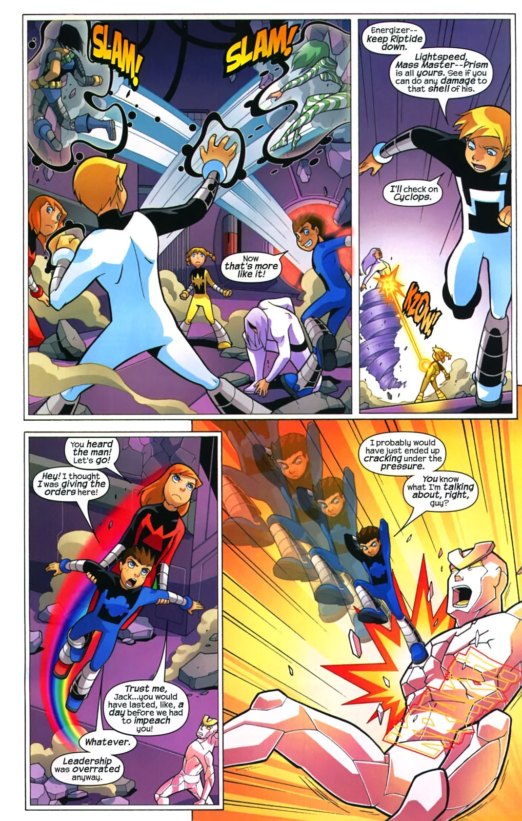 Read online X-Men and Power Pack comic -  Issue #4 - 20