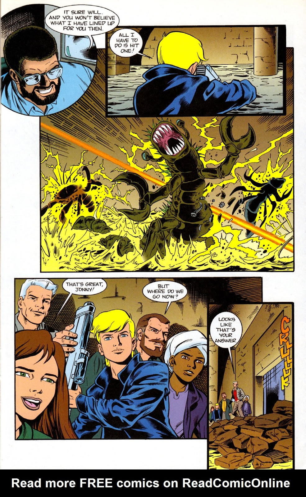 Read online The Real Adventures of Jonny Quest comic -  Issue #7 - 15