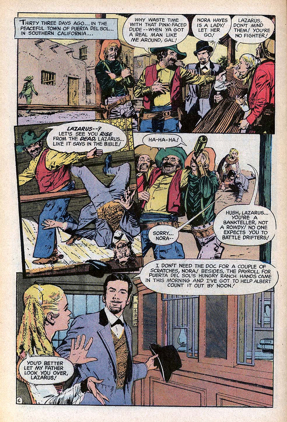 Read online All-Star Western (1970) comic -  Issue #3 - 16