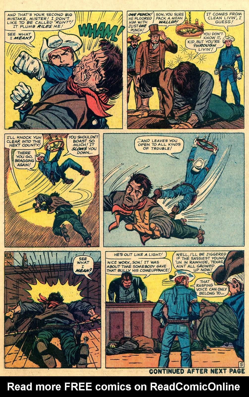 The Rawhide Kid (1955) issue 49 - Page 7