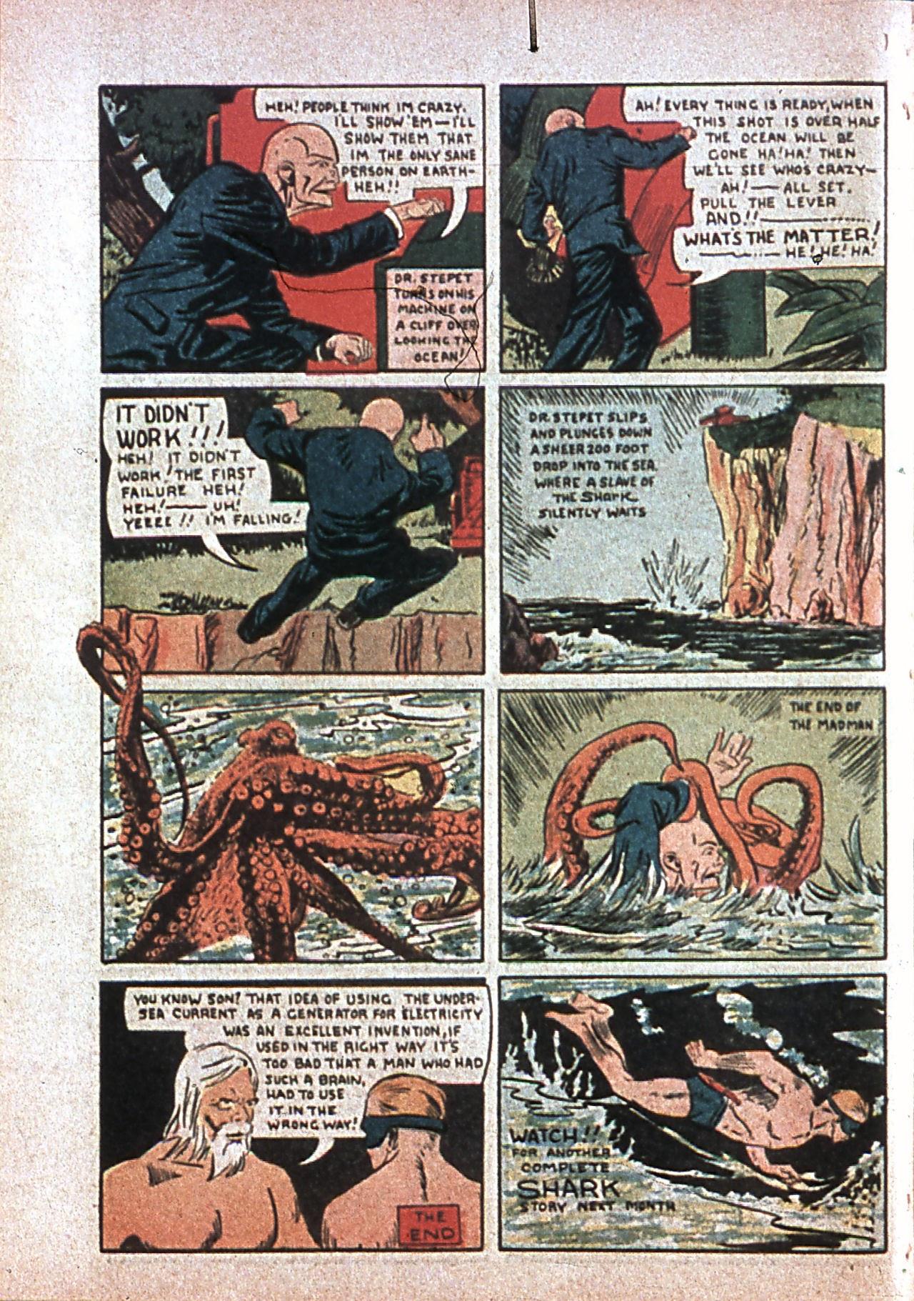 Read online Amazing Man Comics comic -  Issue #7 - 67