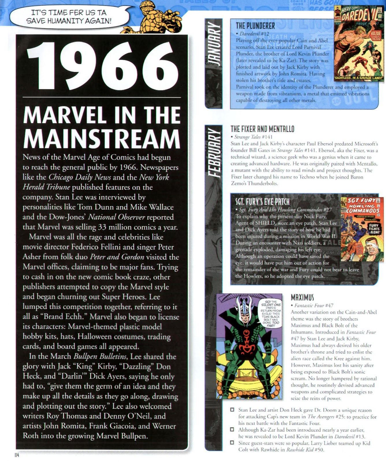 Read online Marvel Chronicle comic -  Issue # TPB (Part 2) - 13
