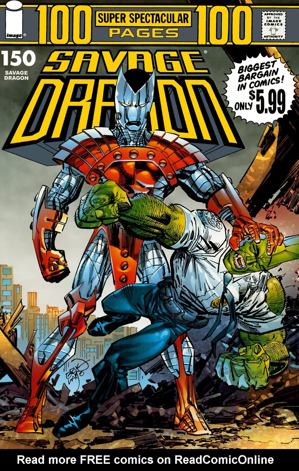 The Savage Dragon (1993) Issue #150 #153 - English 1