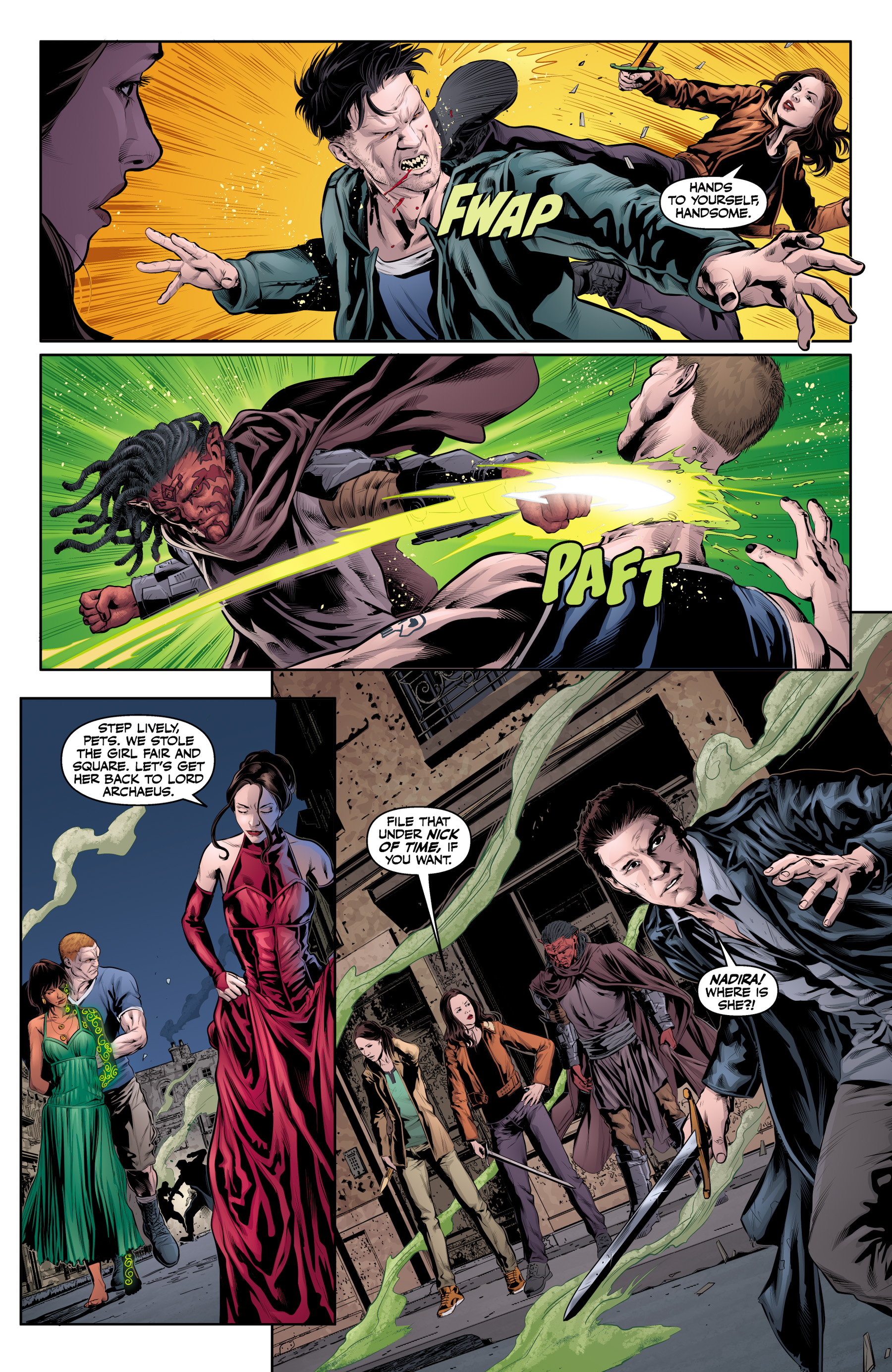 Read online Angel & Faith Season 10 comic -  Issue #20 - 7