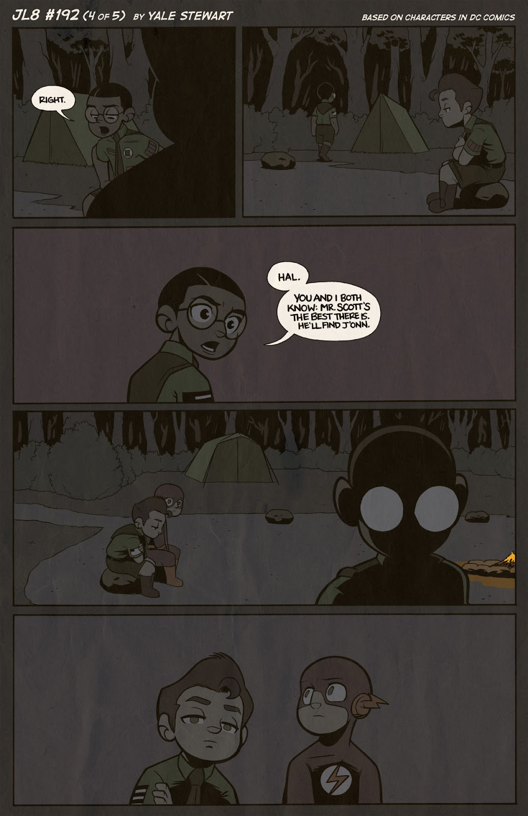 Read online JL8 – The Complete Collection comic -  Issue # TPB (Part 2) - 11