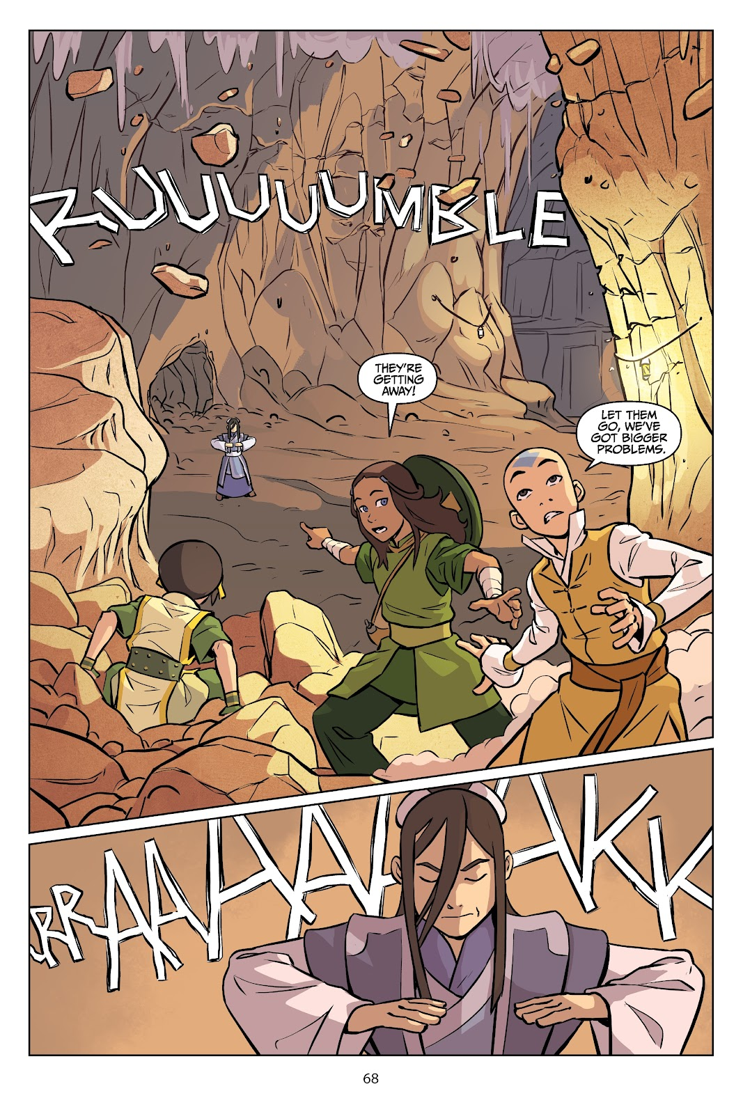 Read online Nickelodeon Avatar: The Last Airbender - Imbalance comic -  Issue # TPB 2 - 69