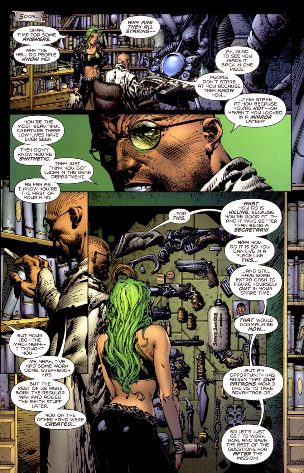 Read online Aphrodite IX (2000) comic -  Issue #1 - 15