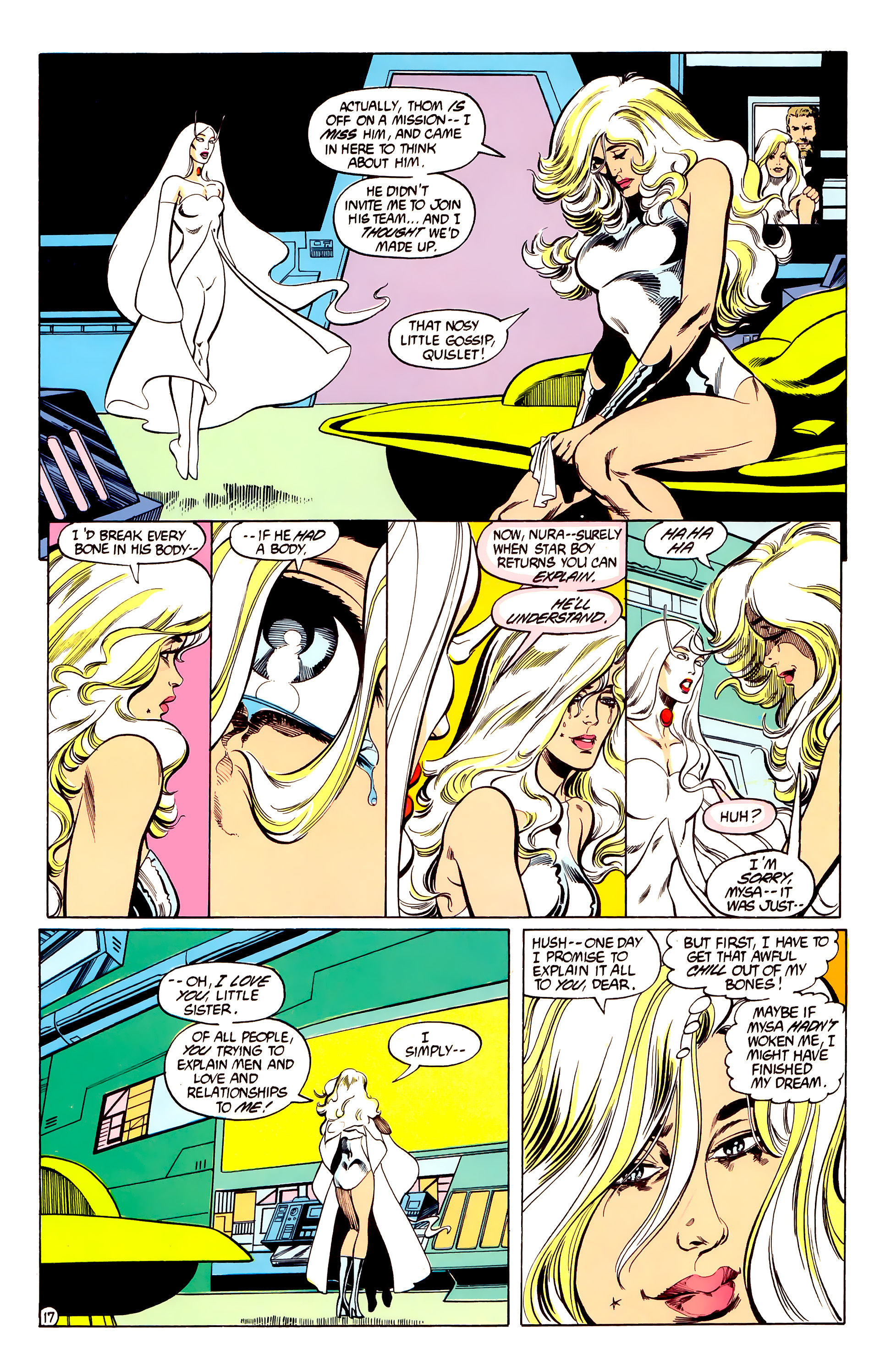 Legion of Super-Heroes (1984) 28 Page 18
