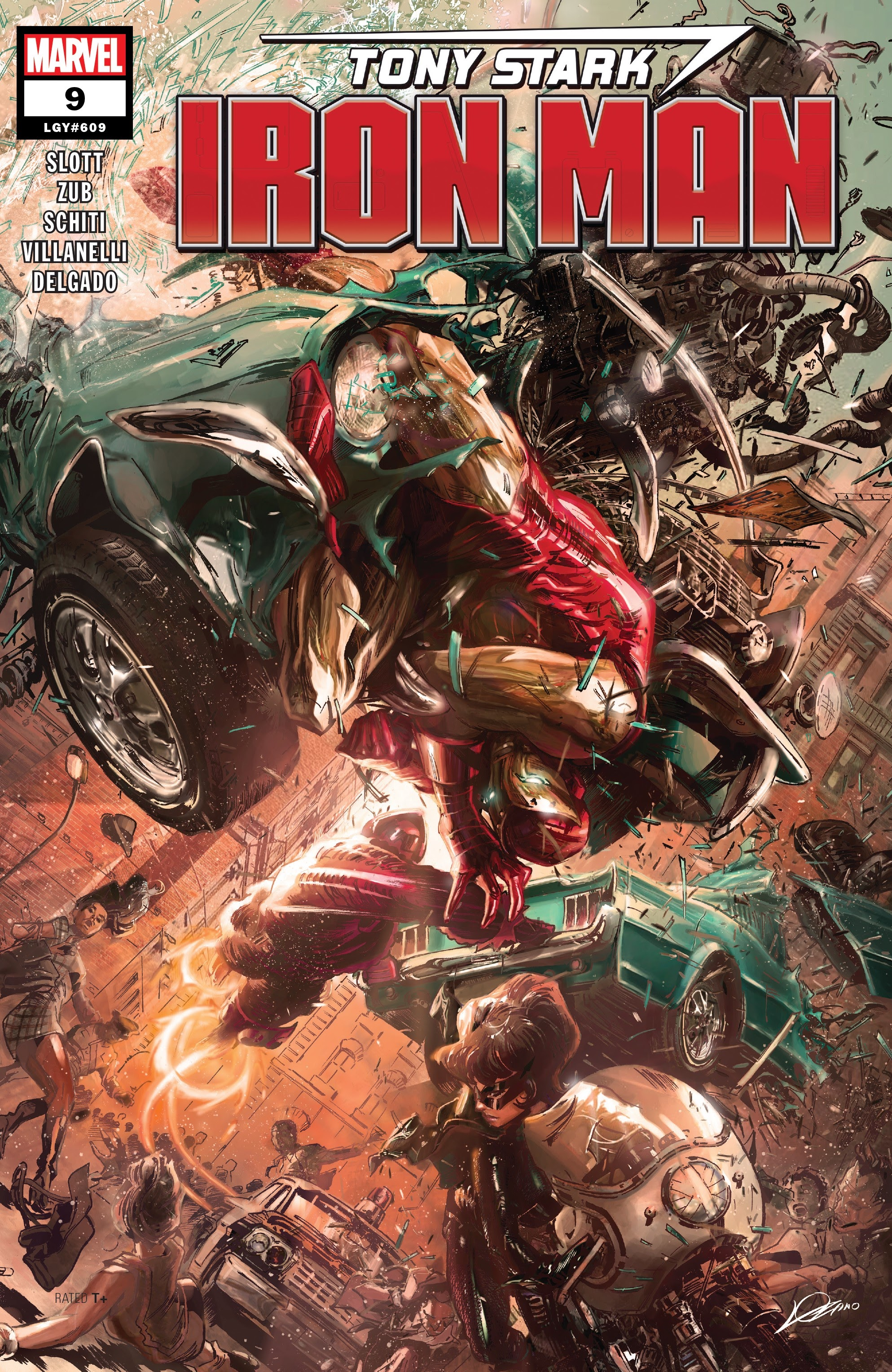 Read online Tony Stark: Iron Man comic -  Issue #9 - 1