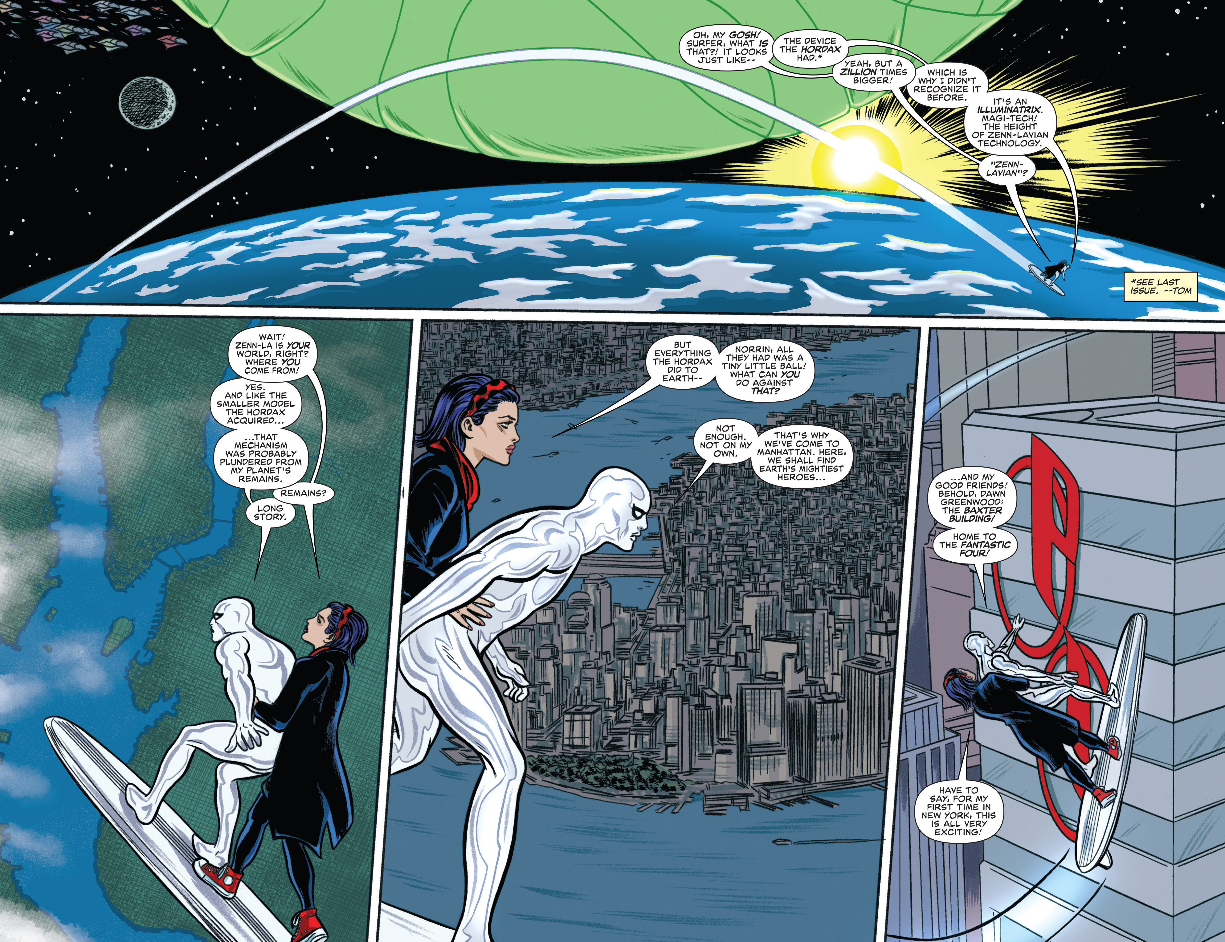 Read online Silver Surfer (2016) comic -  Issue #2 - 9