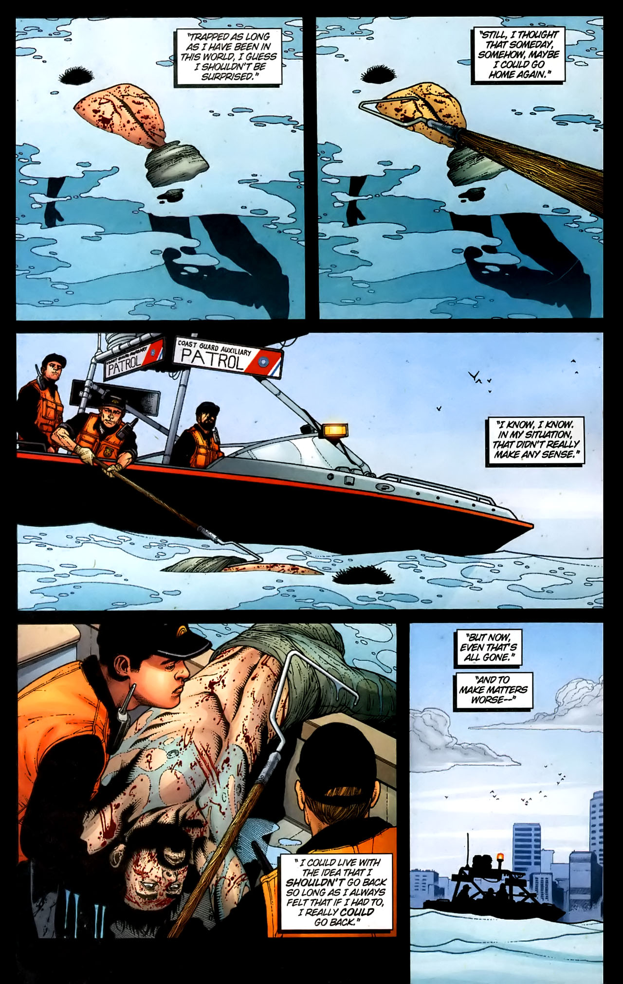 Read online Aquaman (2003) comic -  Issue #36 - 4