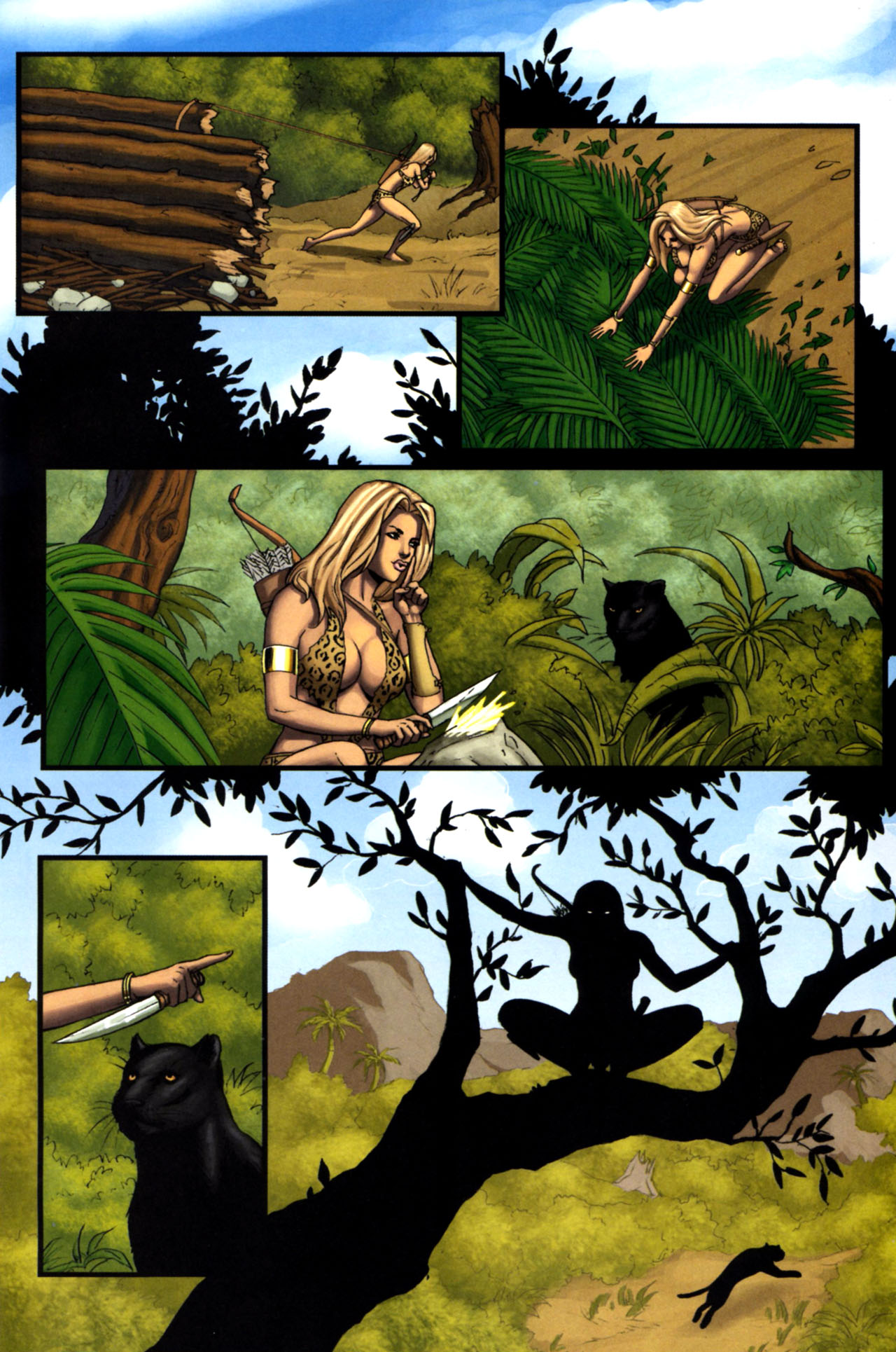 Read online Sheena, Queen of the Jungle comic -  Issue #4 - 15