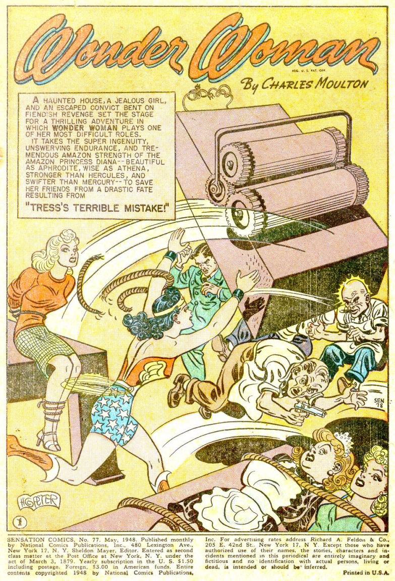 Read online Sensation (Mystery) Comics comic -  Issue #77 - 3
