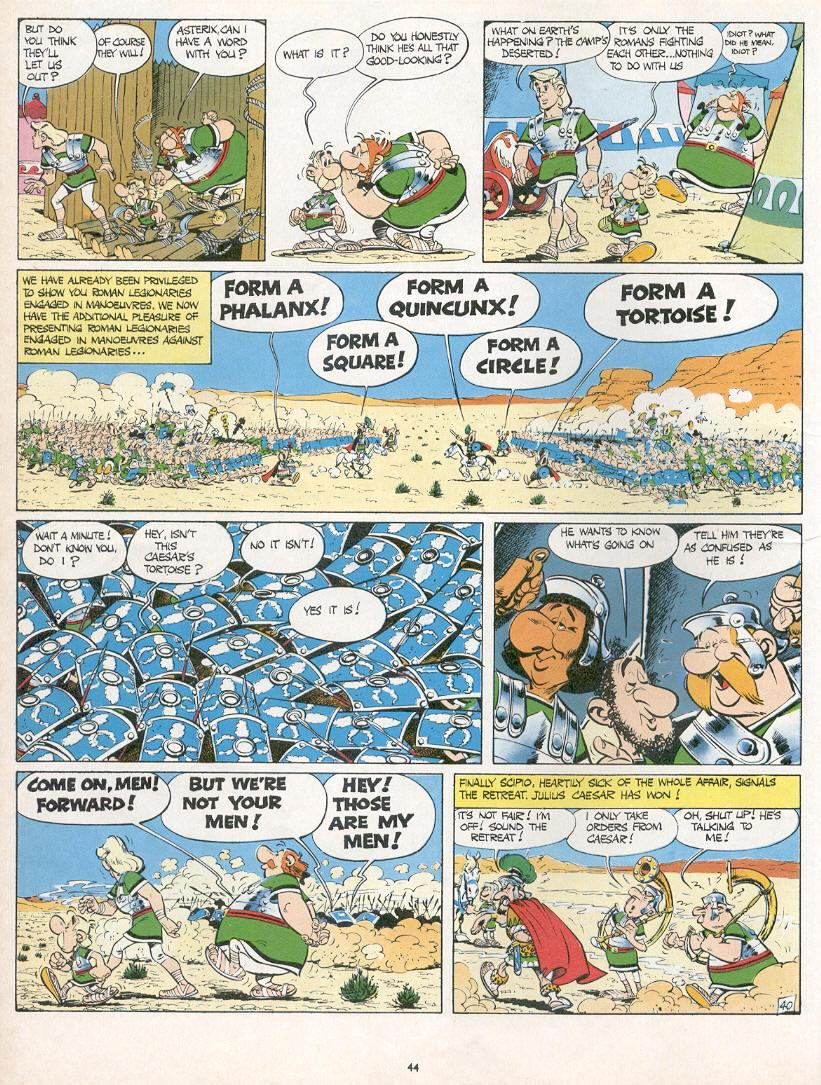Read online Asterix comic -  Issue #10 - 41