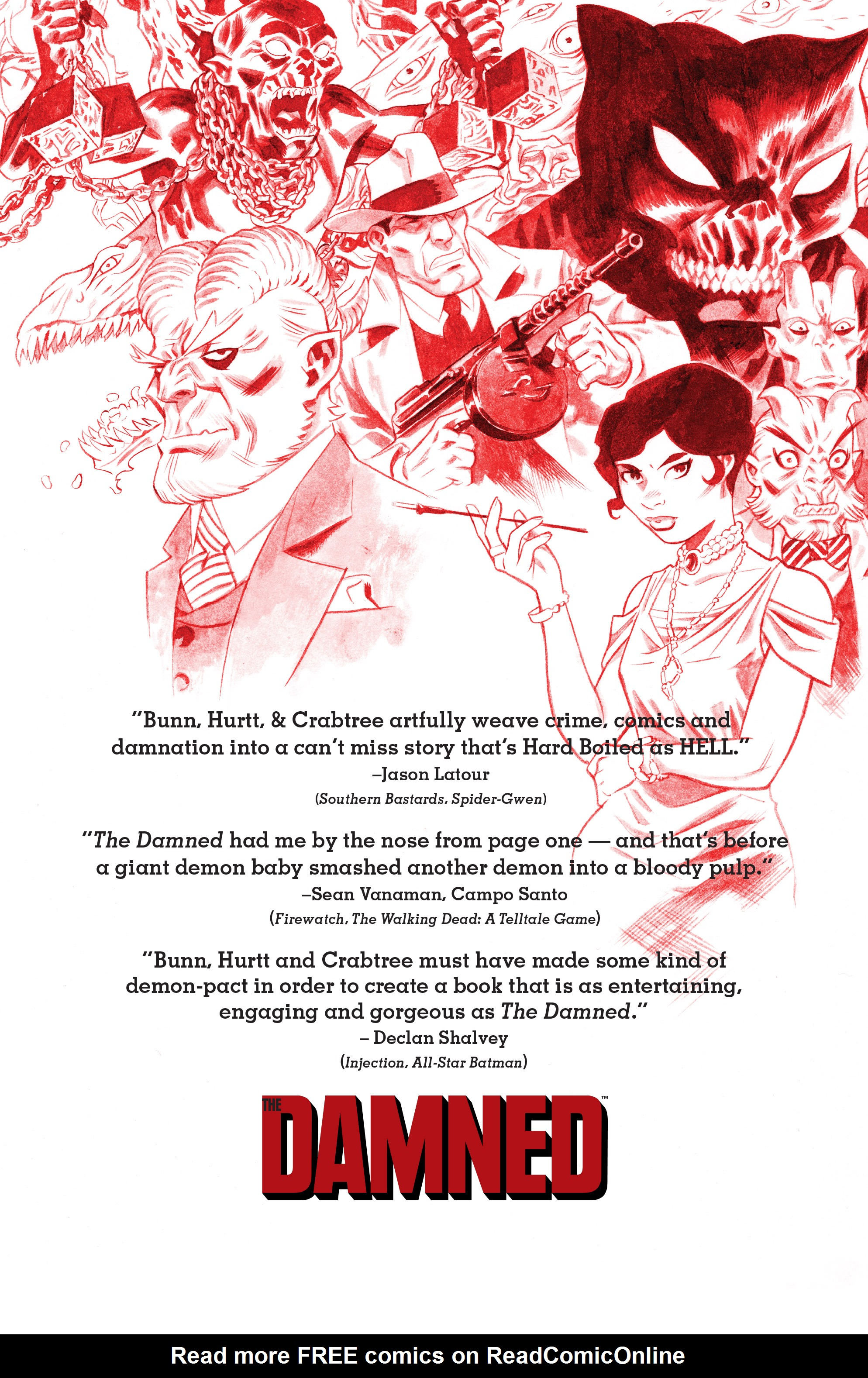 Read online The Damned comic -  Issue #1 - 30