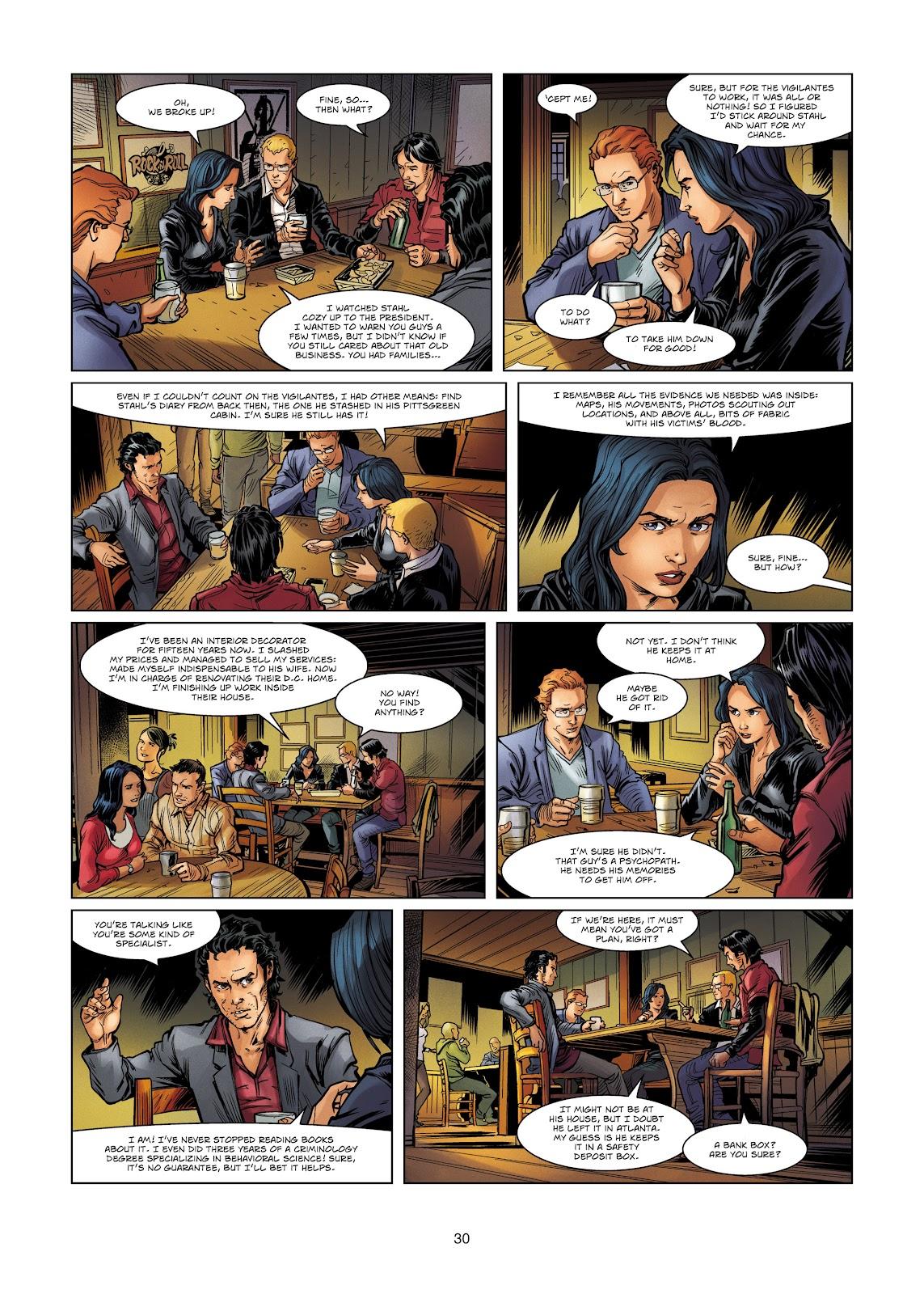 Read online Vigilantes comic -  Issue #4 - 30