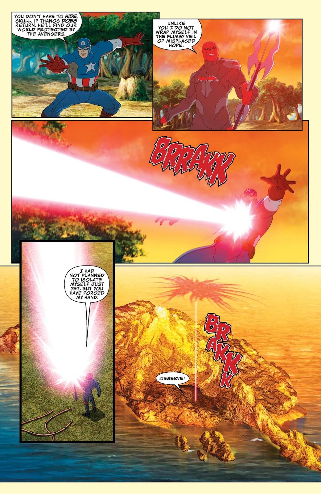 Read online Marvel Universe Avengers Assemble Season 2 comic -  Issue #9 - 22