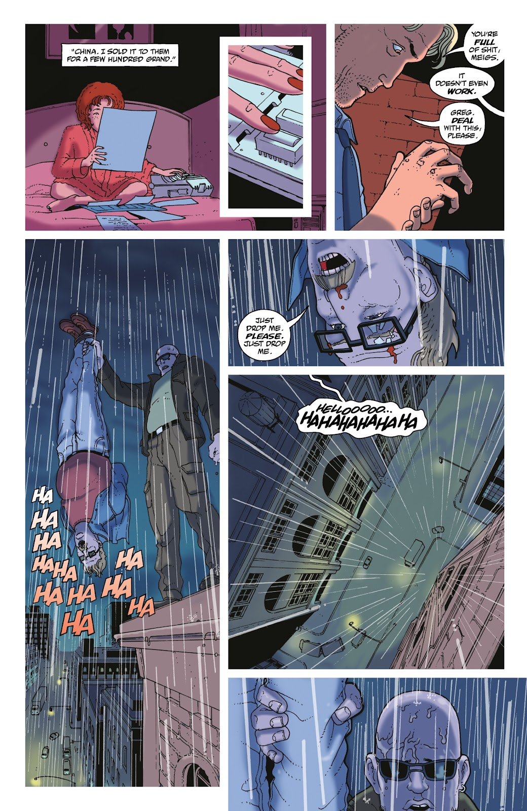 Read online She Could Fly comic -  Issue # _TPB - 102