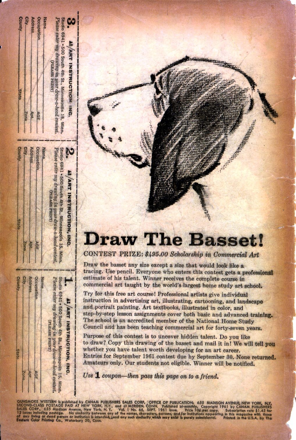 Gunsmoke Western issue 66 - Page 2