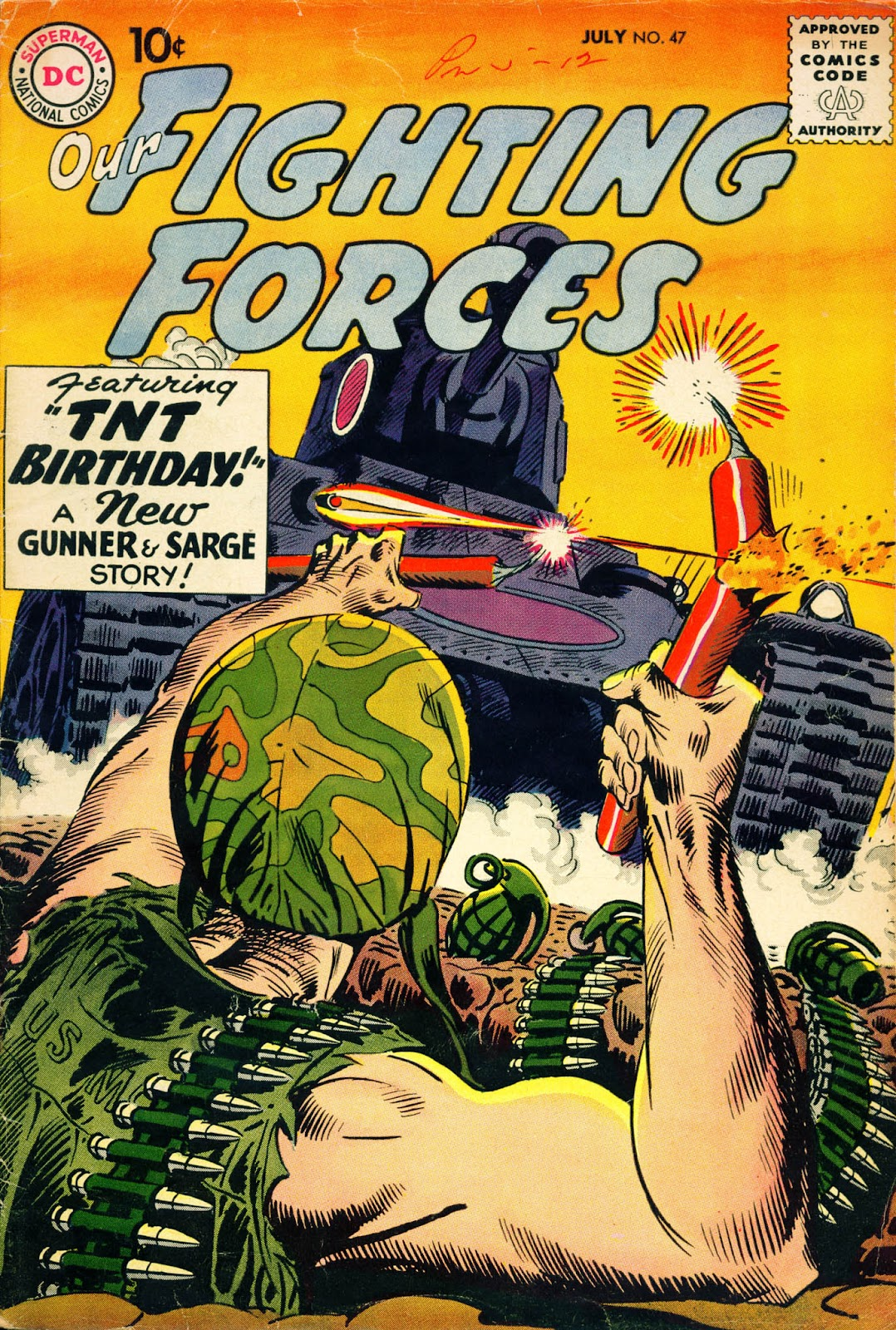 Our Fighting Forces (1954) issue 47 - Page 1