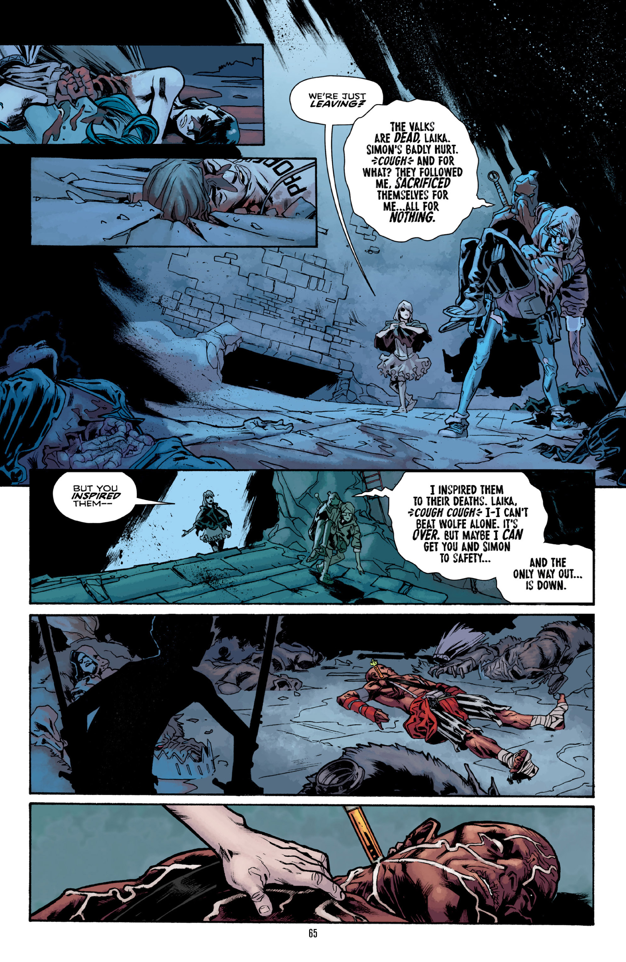 Read online Orchid comic -  Issue # TPB 3 - 64