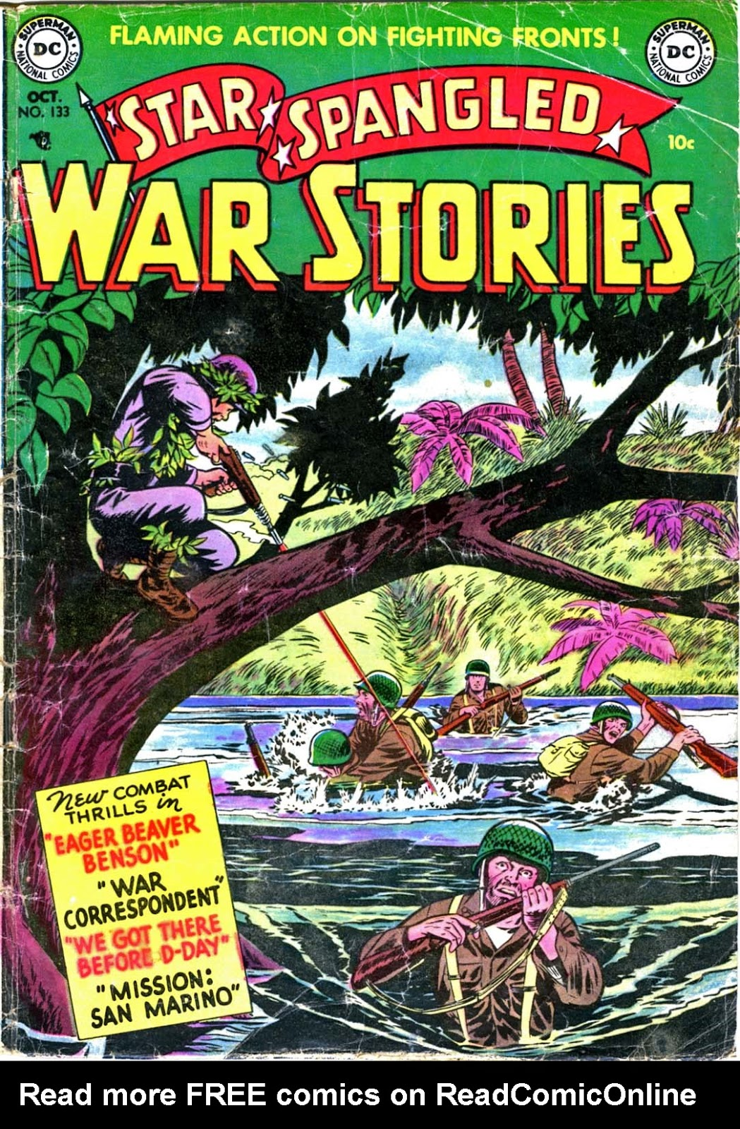 Star Spangled War Stories (1952) issue 2b - Page 1