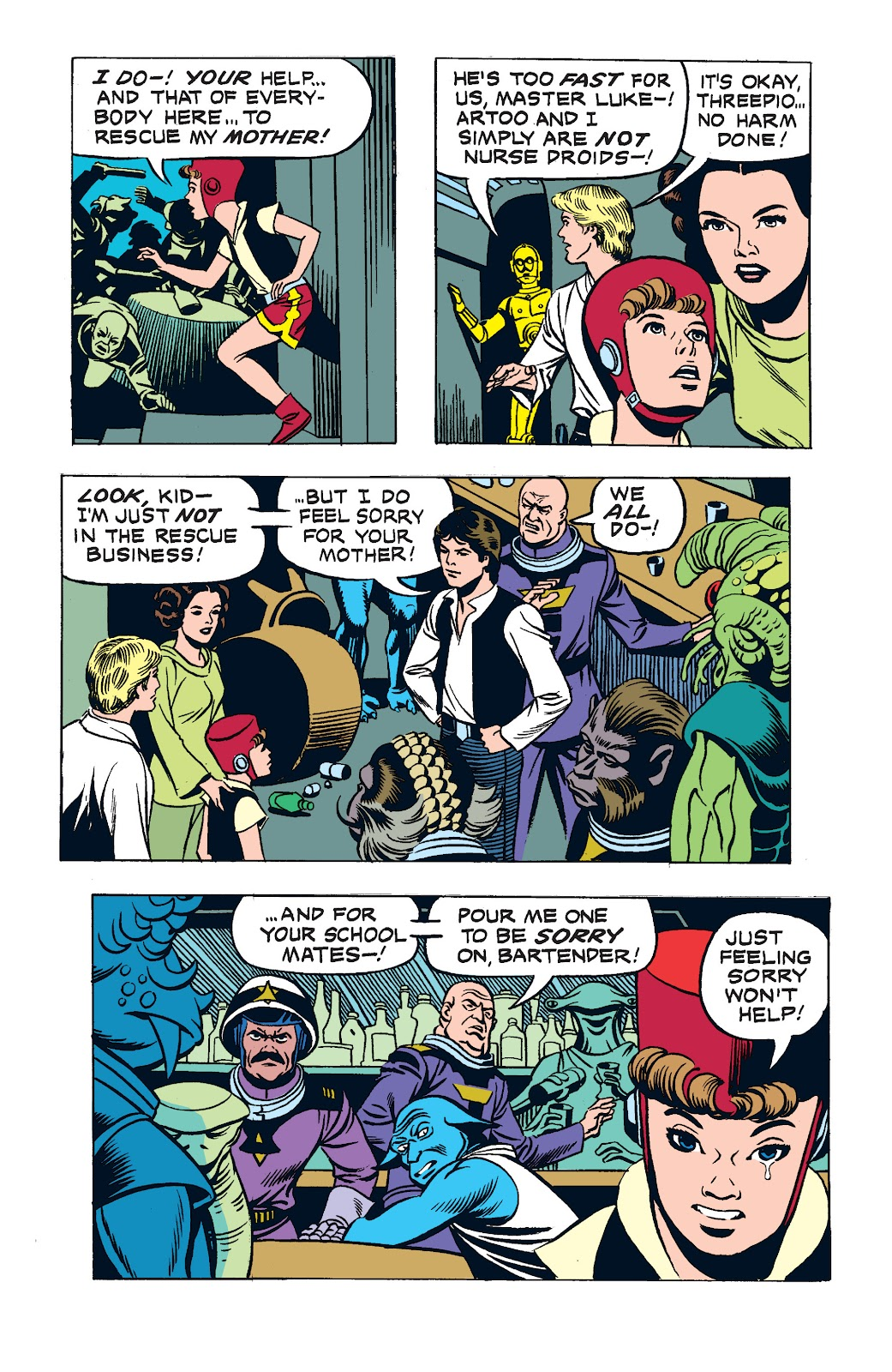 Read online Star Wars Legends: The Newspaper Strips - Epic Collection comic -  Issue # TPB (Part 3) - 10