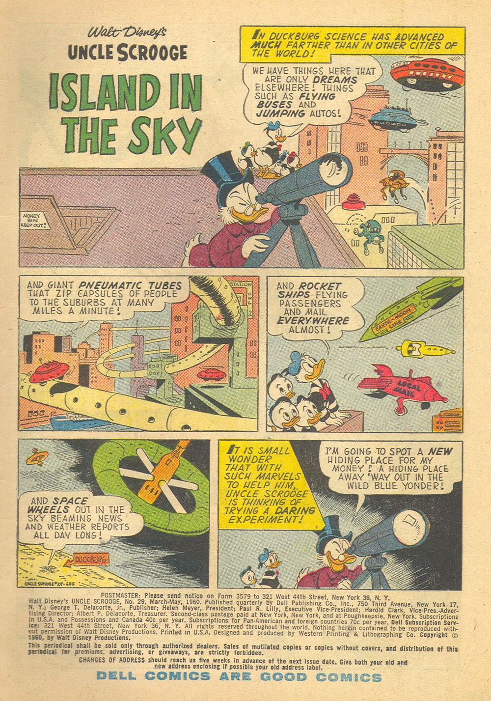 Read online Uncle Scrooge (1953) comic -  Issue #29 - 3