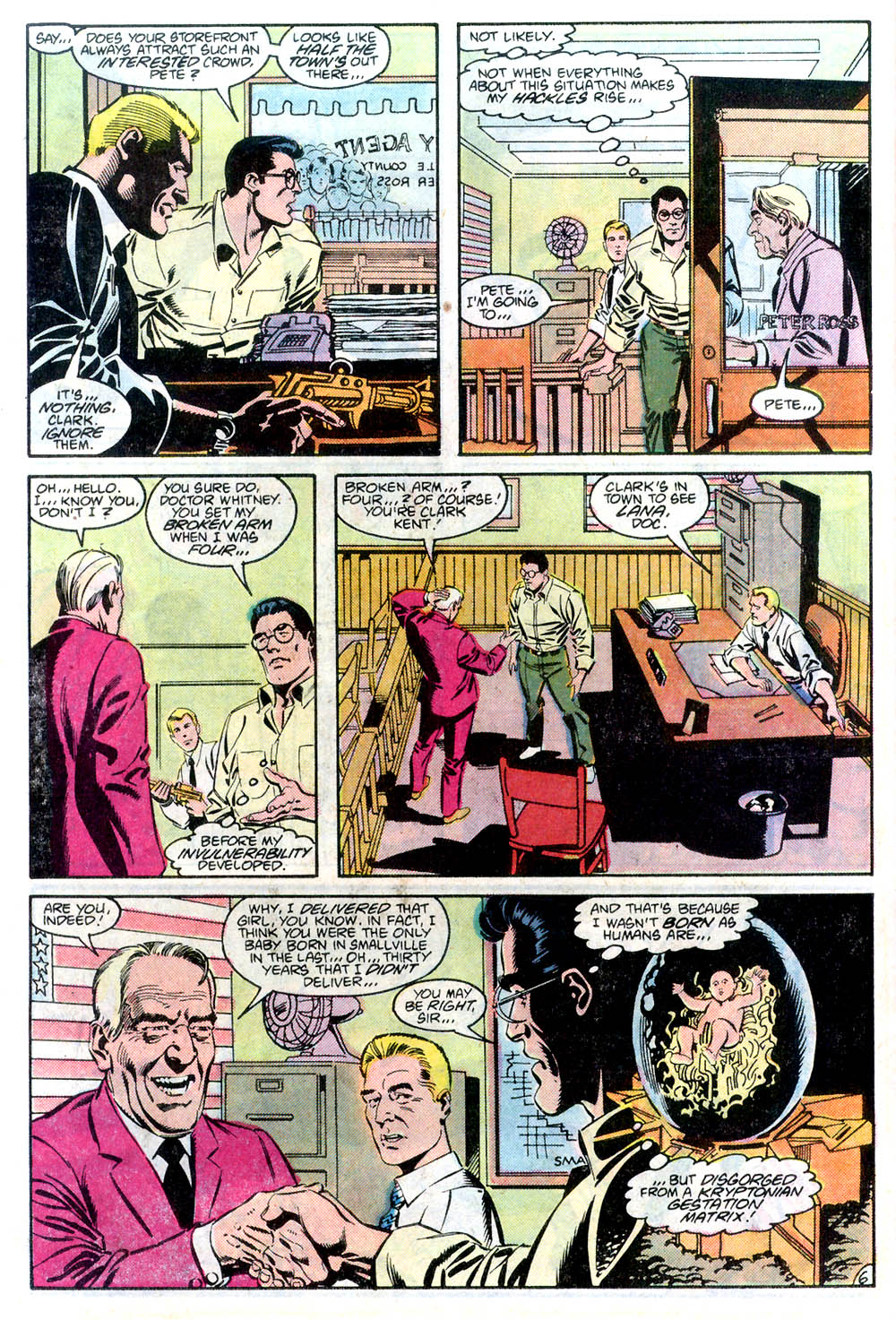 Read online Adventures of Superman (1987) comic -  Issue #436 - 7