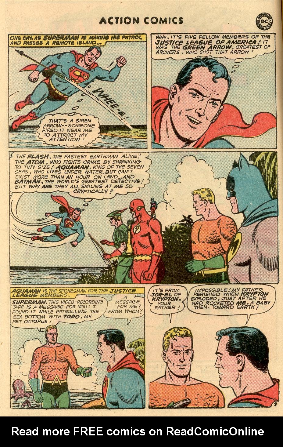 Read online Action Comics (1938) comic -  Issue #314 - 3
