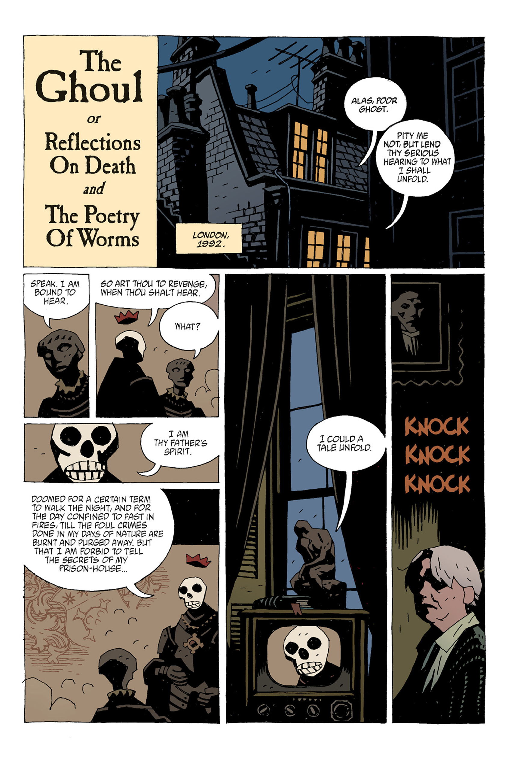 Read online Hellboy: The Troll Witch and Others comic -  Issue # TPB - 70
