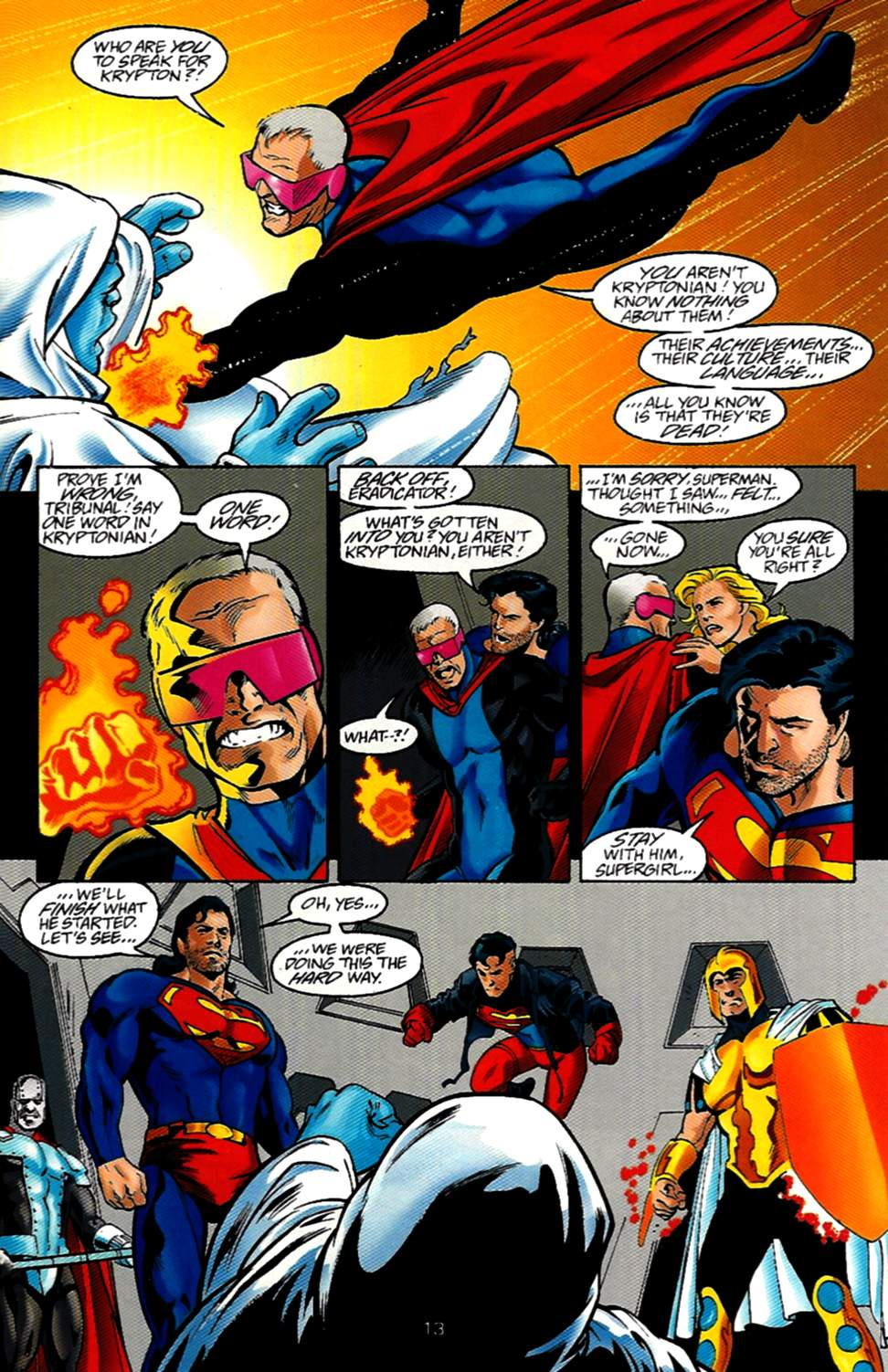 Read online Adventures of Superman (1987) comic -  Issue #531 - 14