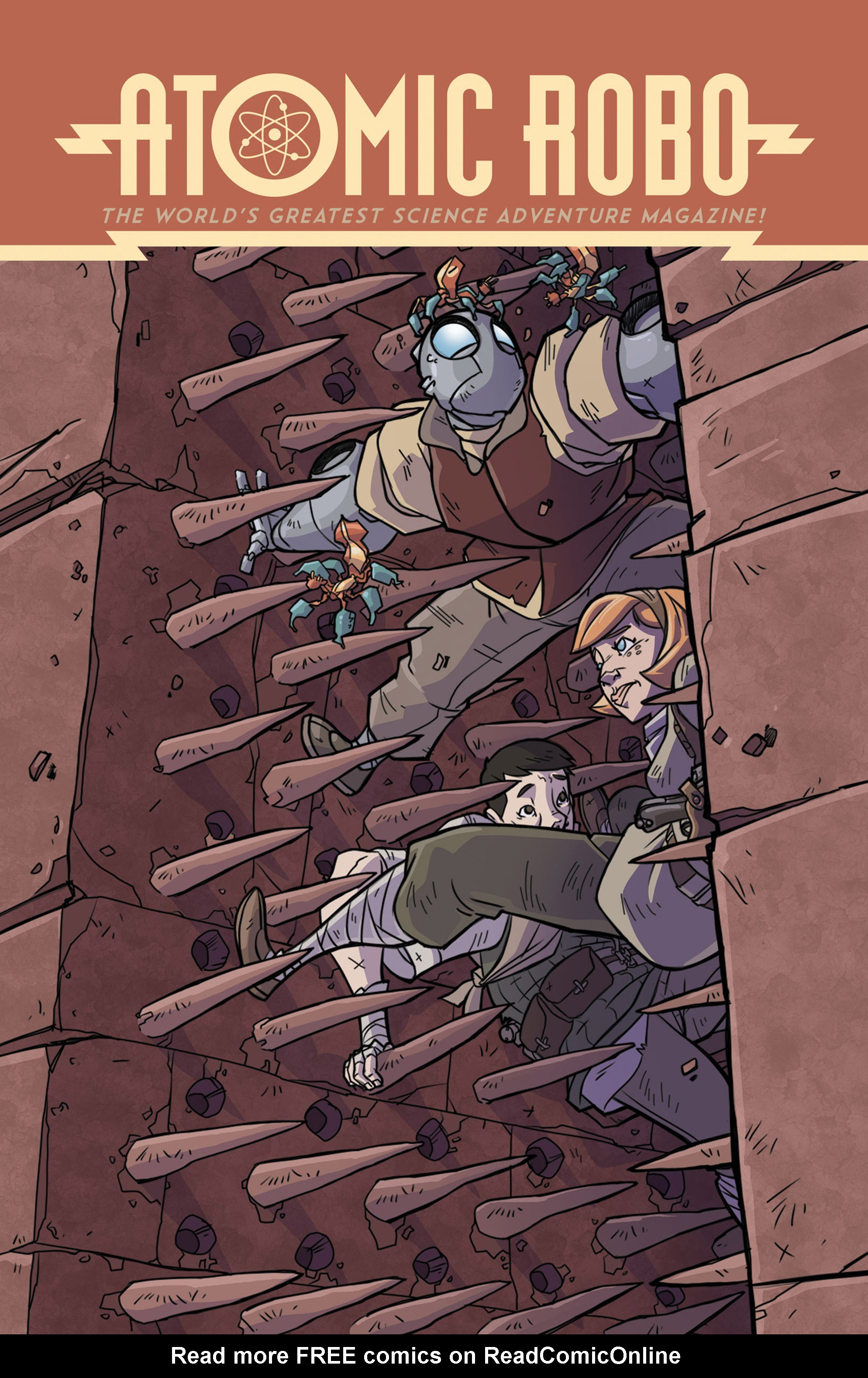 Read online Atomic Robo and the Temple of Od comic -  Issue #5 - 1