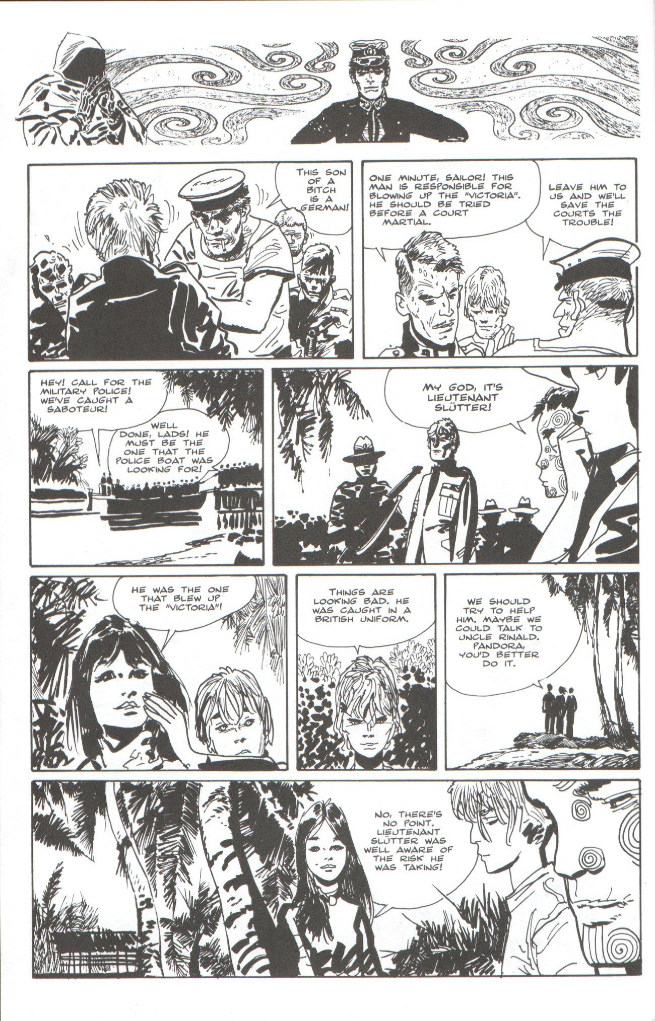 Read online Corto Maltese: Ballad of the Salt Sea comic -  Issue #7 - 6
