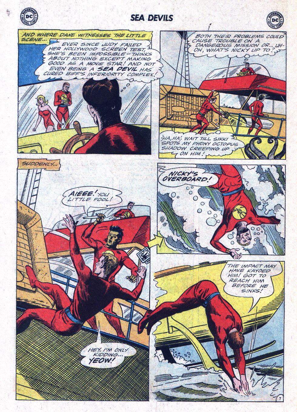 Read online Sea Devils comic -  Issue #22 - 10