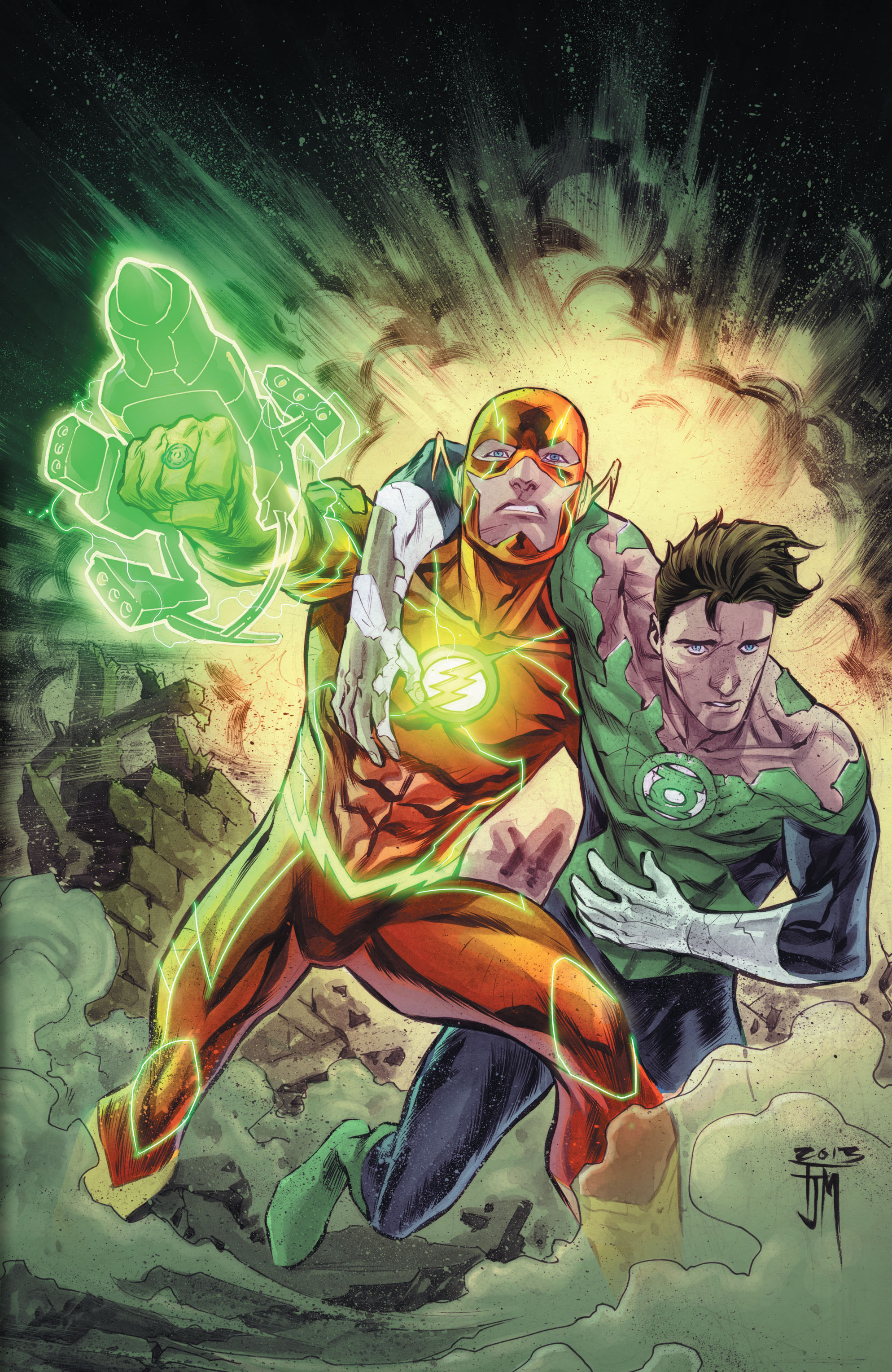 Read online The Flash (2011) comic -  Issue # _TPB 5 - 5