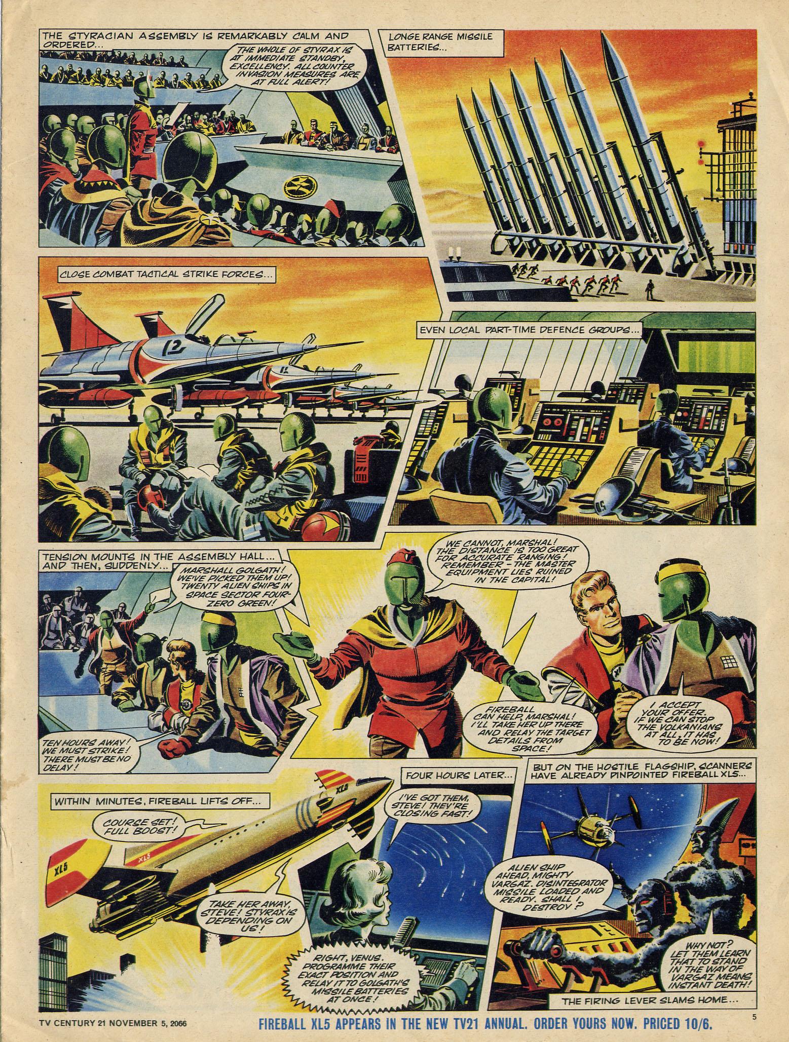 Read online TV Century 21 (TV 21) comic -  Issue #94 - 5