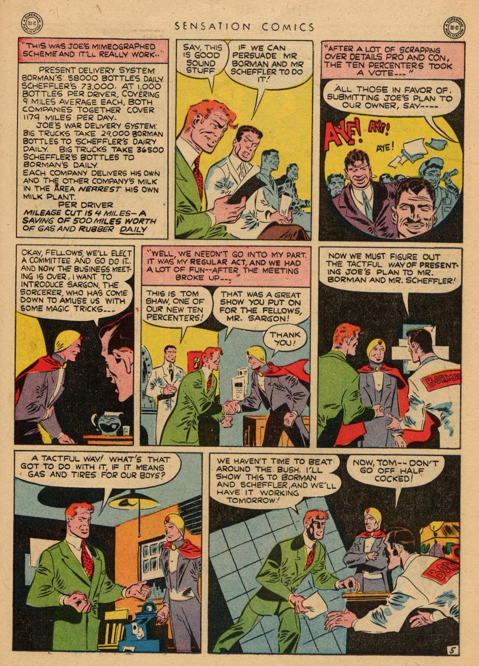 Read online Sensation (Mystery) Comics comic -  Issue #36 - 21