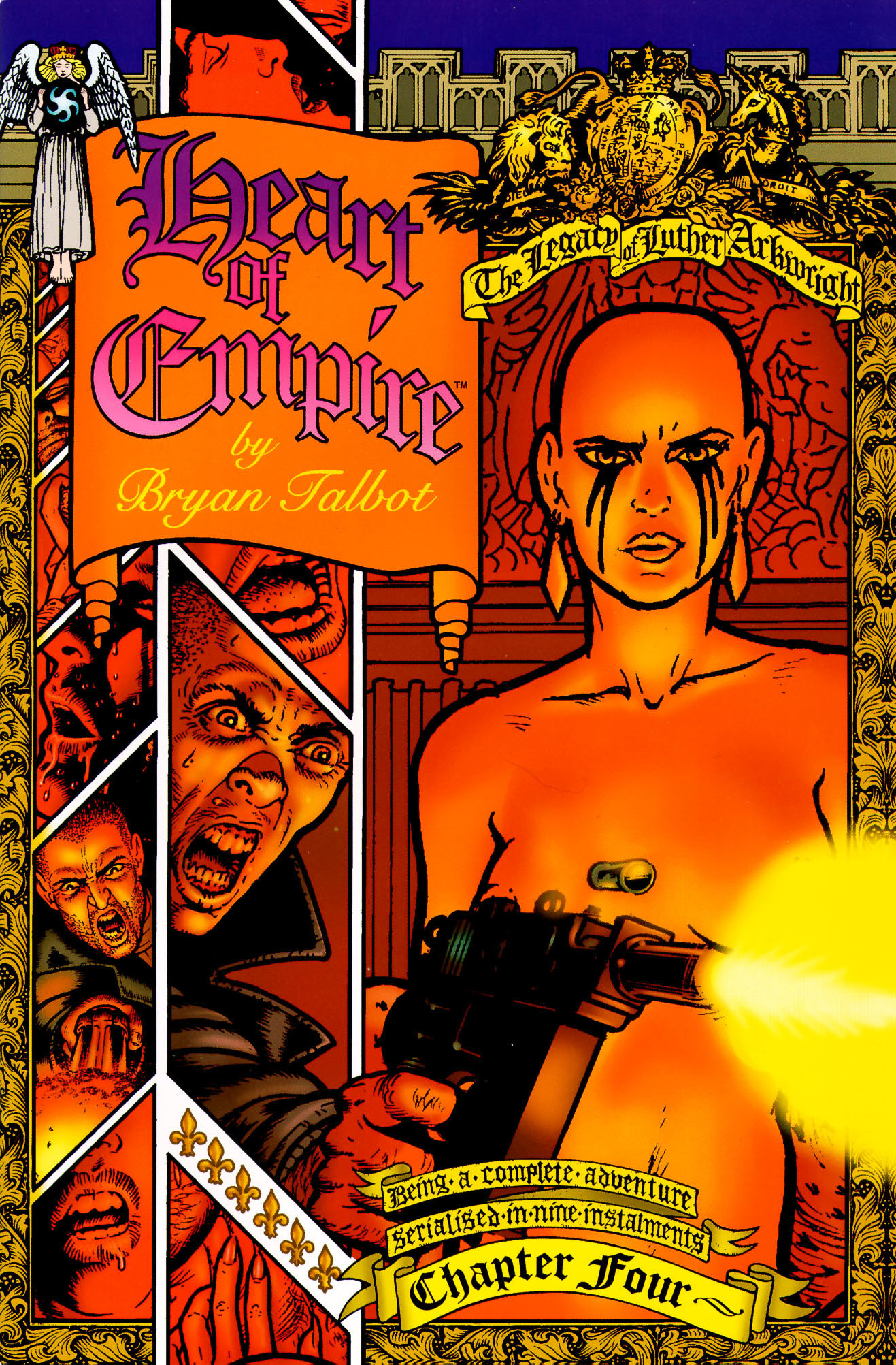 Read online Heart of Empire comic -  Issue #4 - 1