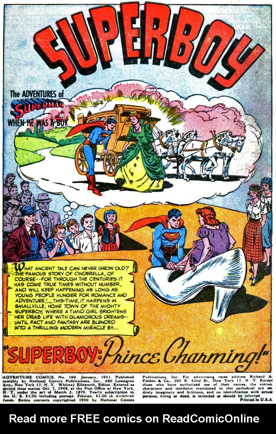 Read online Adventure Comics (1938) comic -  Issue #160 - 3
