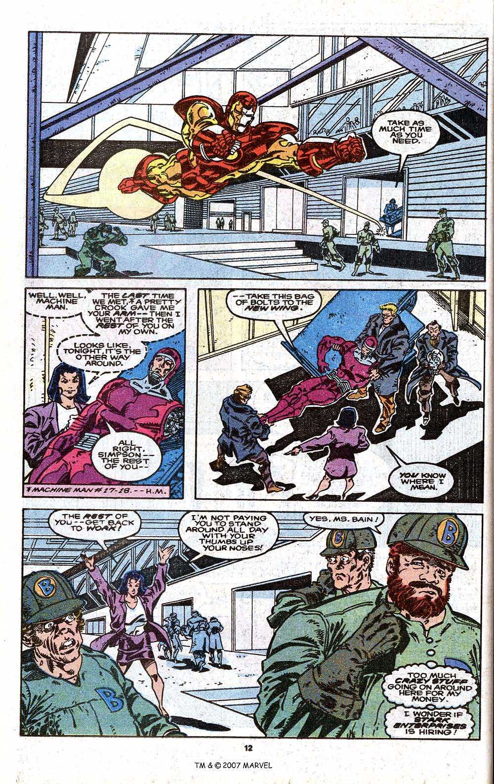 Iron Man Annual issue 11 - Page 14