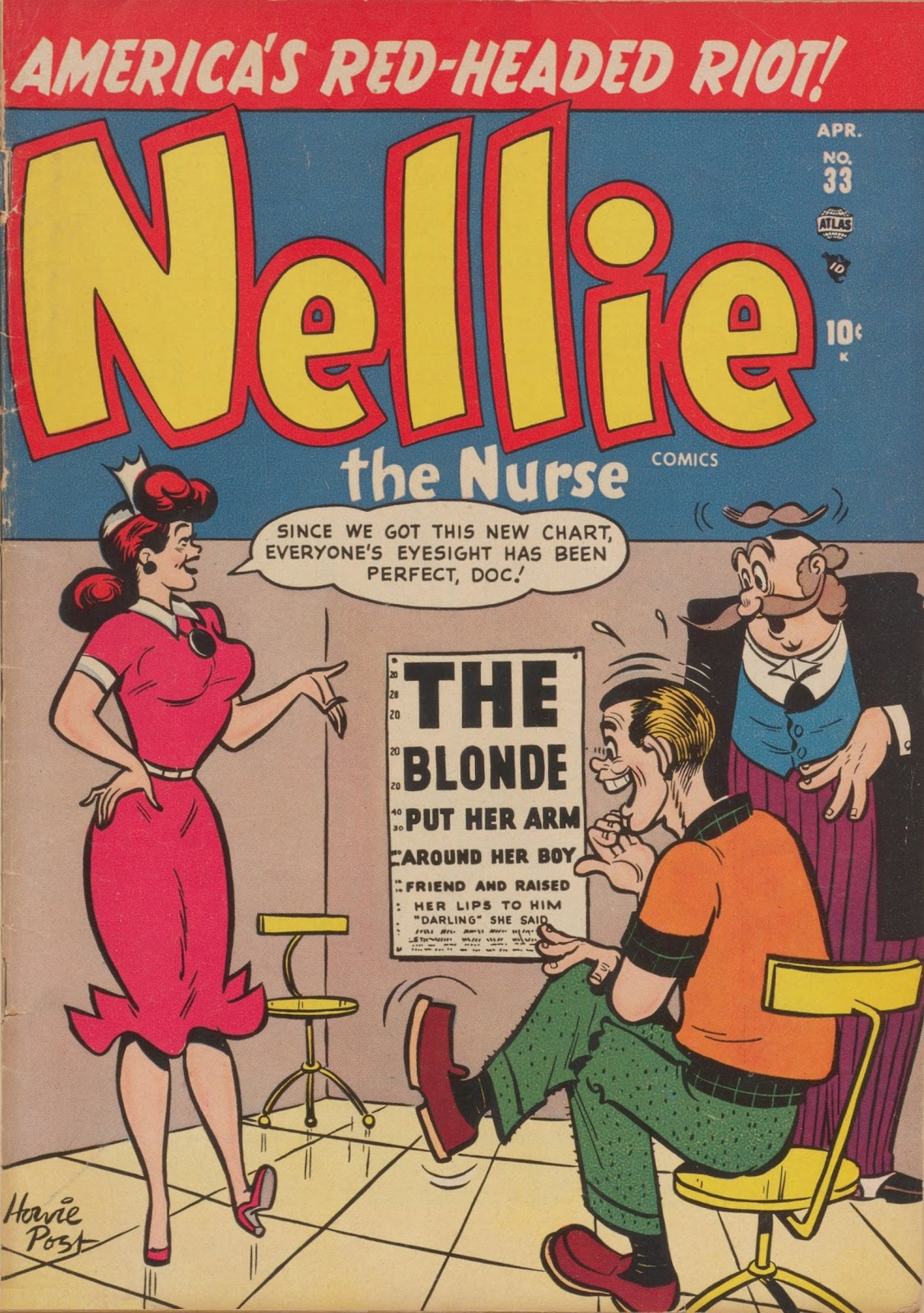 Read online Nellie The Nurse (1945) comic -  Issue #33 - 1