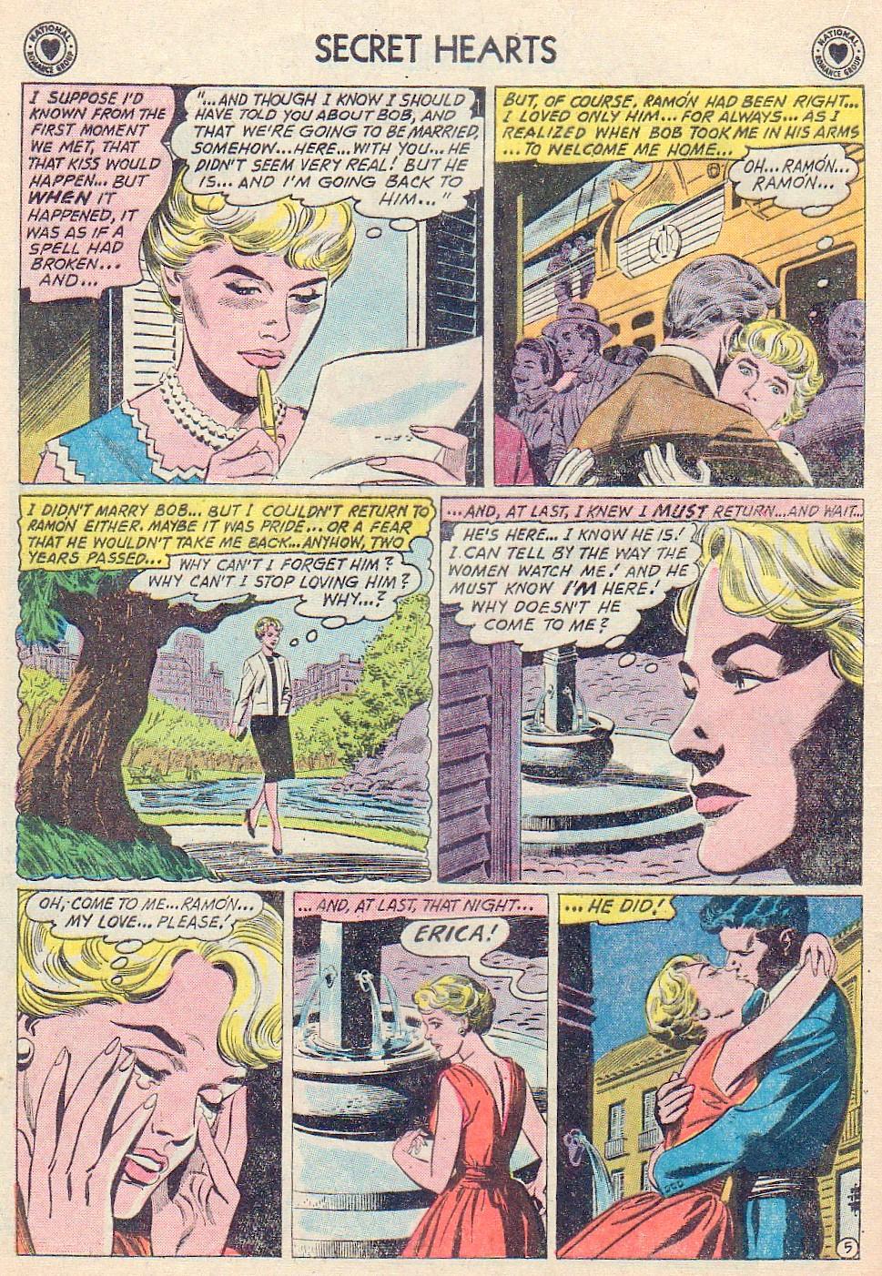 Read online Secret Hearts comic -  Issue #72 - 16