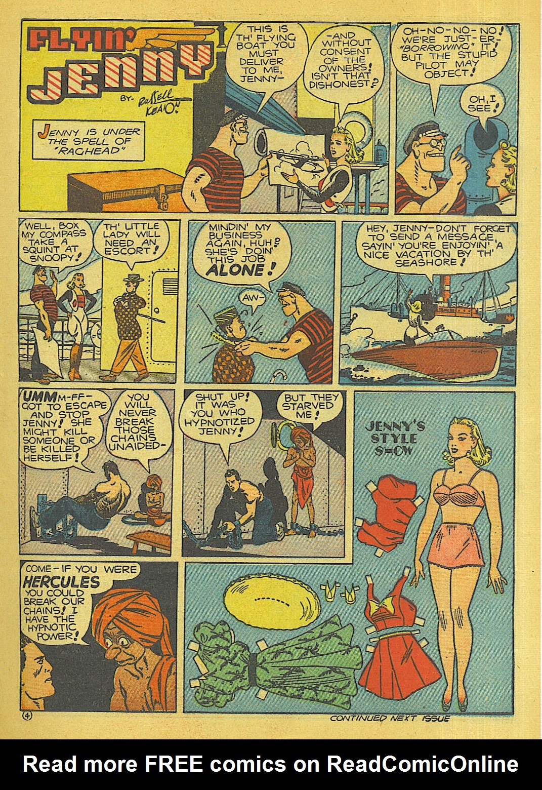 Reglar Fellers Heroic Comics issue 5 - Page 12