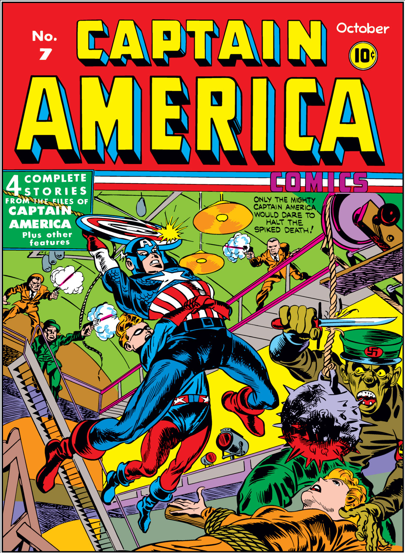 Captain America Comics 7 Page 1