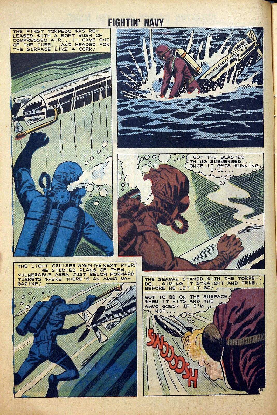 Read online Fightin' Navy comic -  Issue #99 - 8