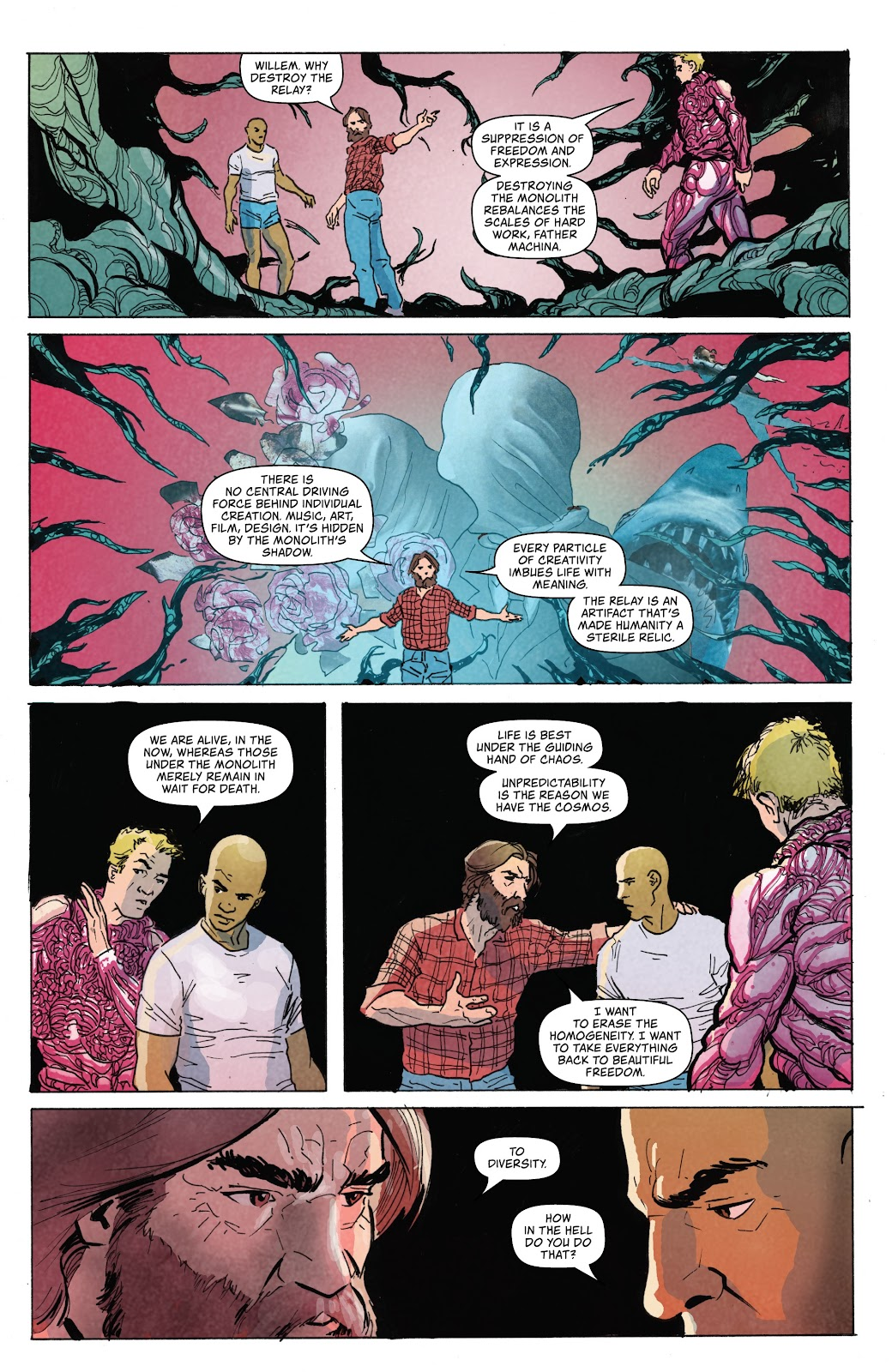 Read online Relay comic -  Issue #5 - 21
