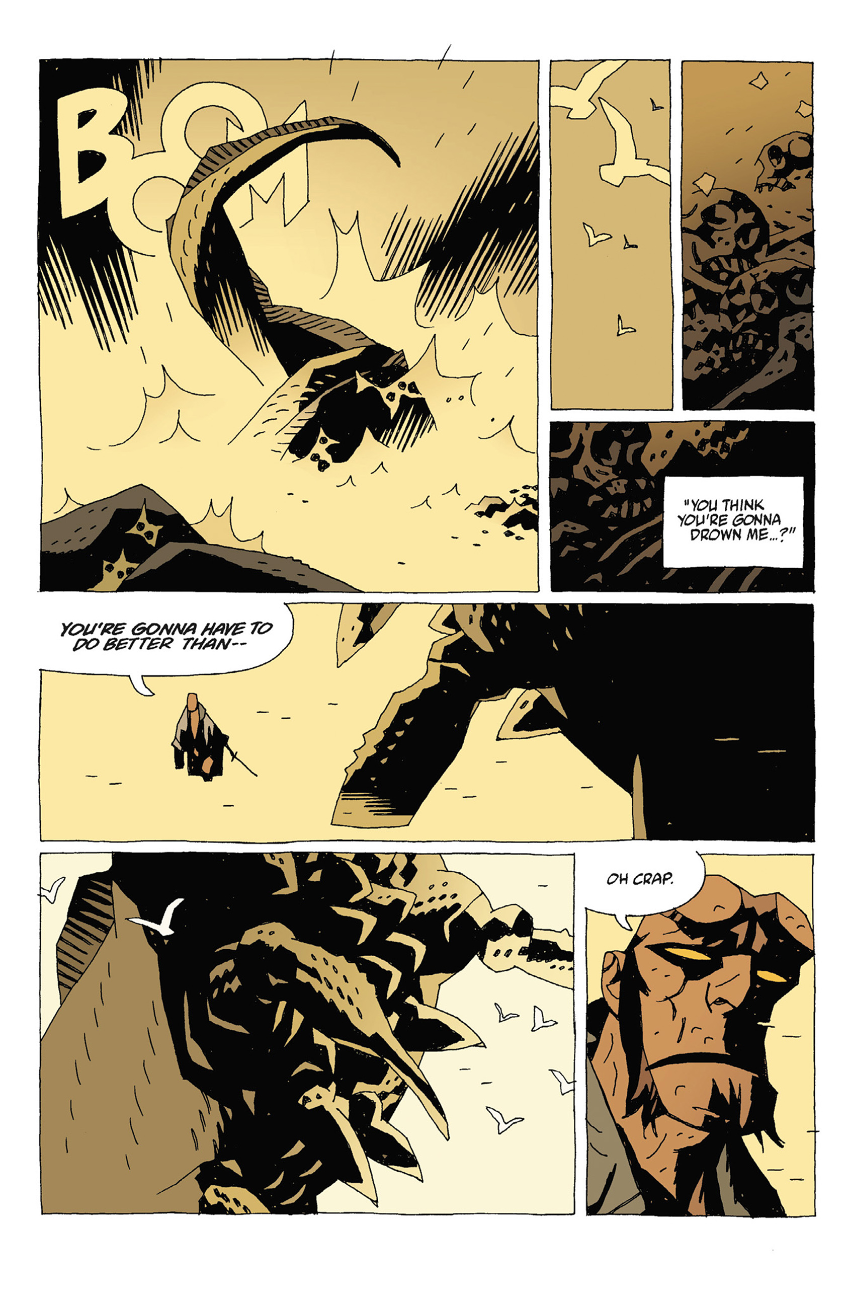 Read online Hellboy: Strange Places comic -  Issue # TPB - 88