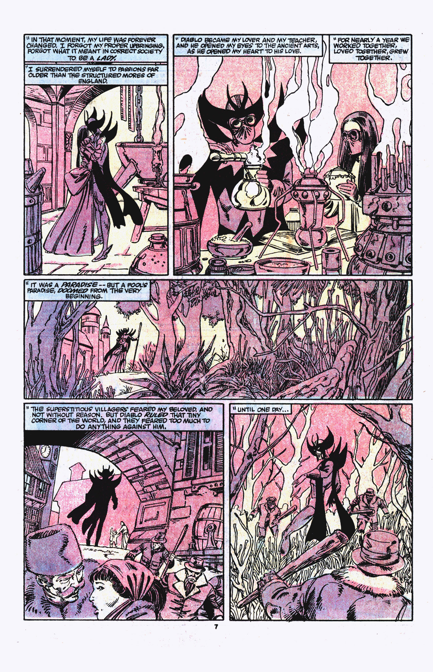 Read online Alpha Flight (1983) comic -  Issue #21 - 8